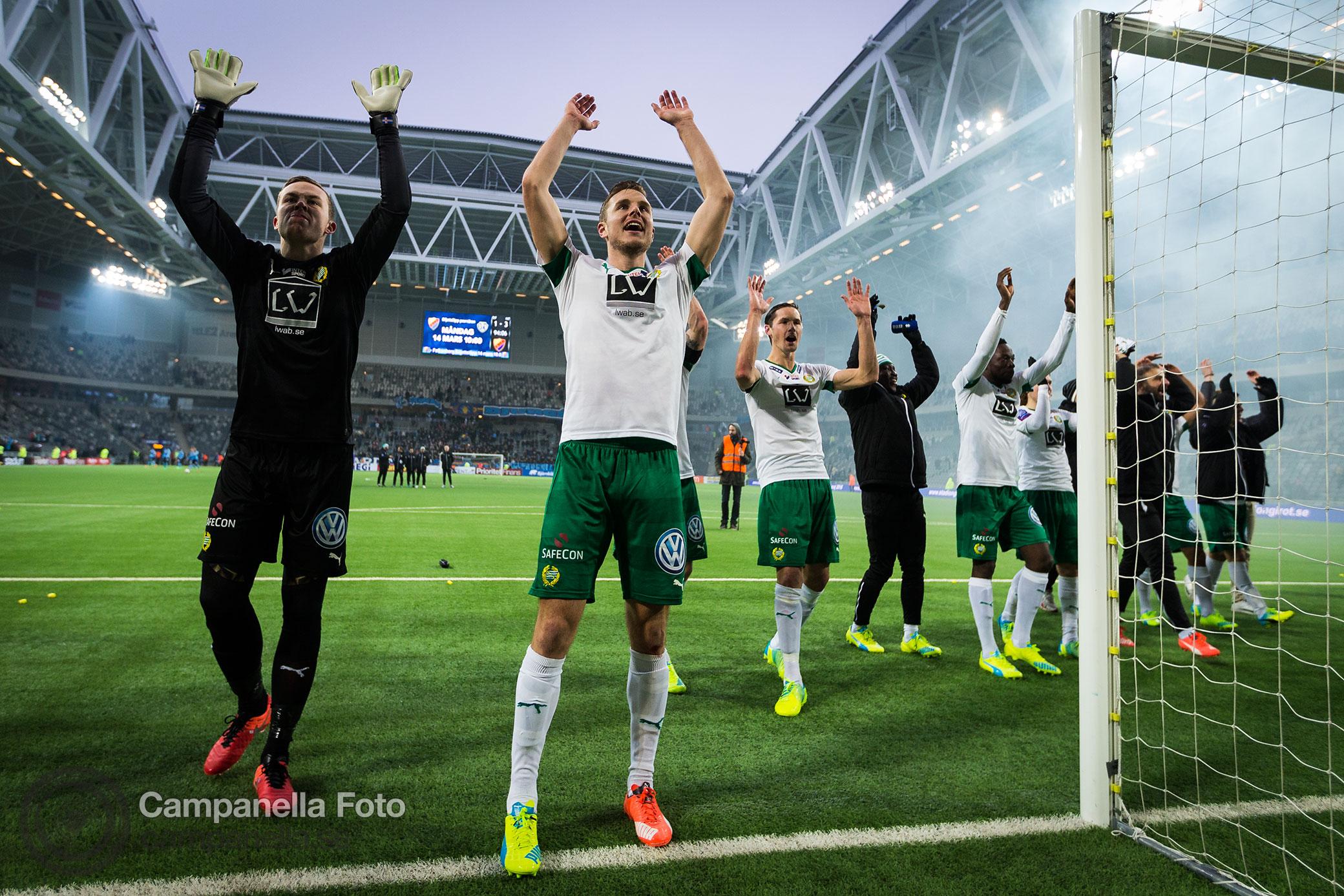 Hammarby takes Swedish Cup derby