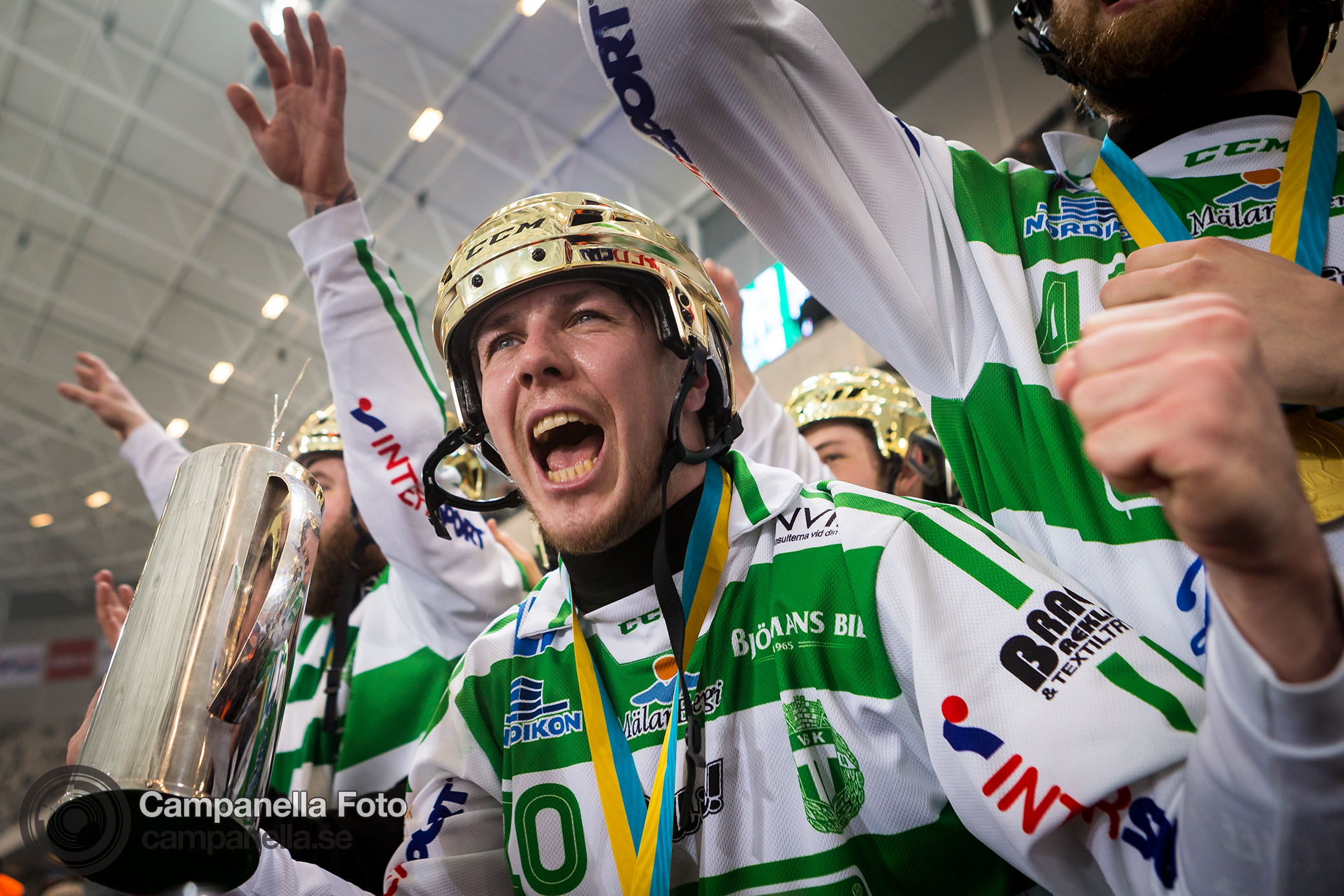 The 2016 Swedish Bandy Final - Michael Campanella Photography