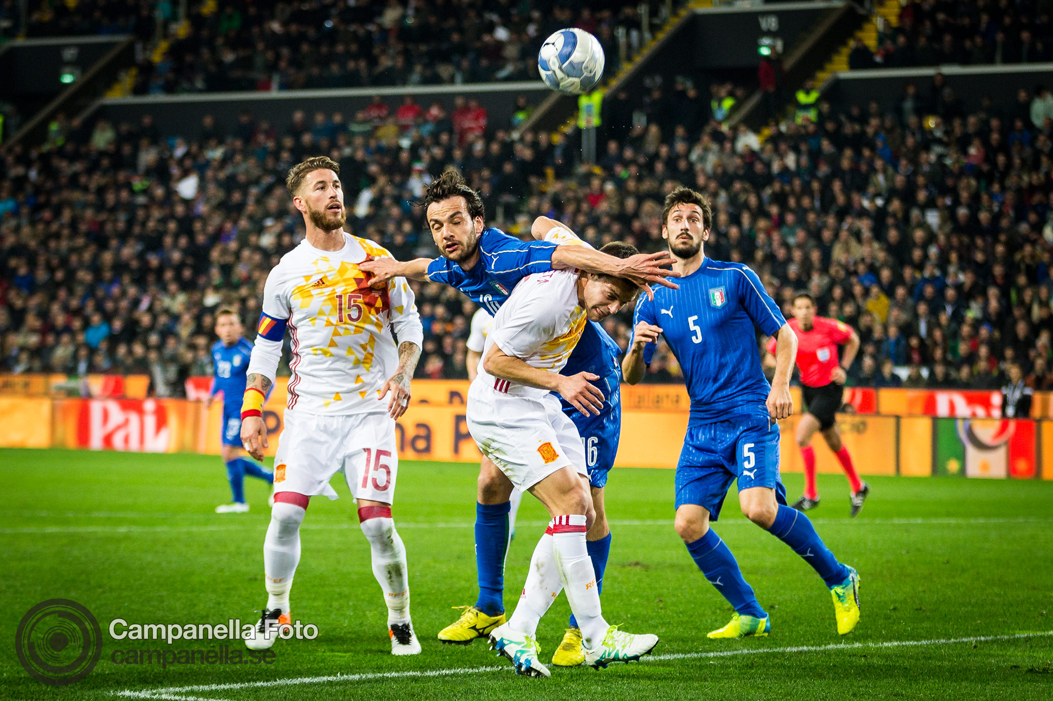 All square between Italy and Spain - Michael Campanella Photography