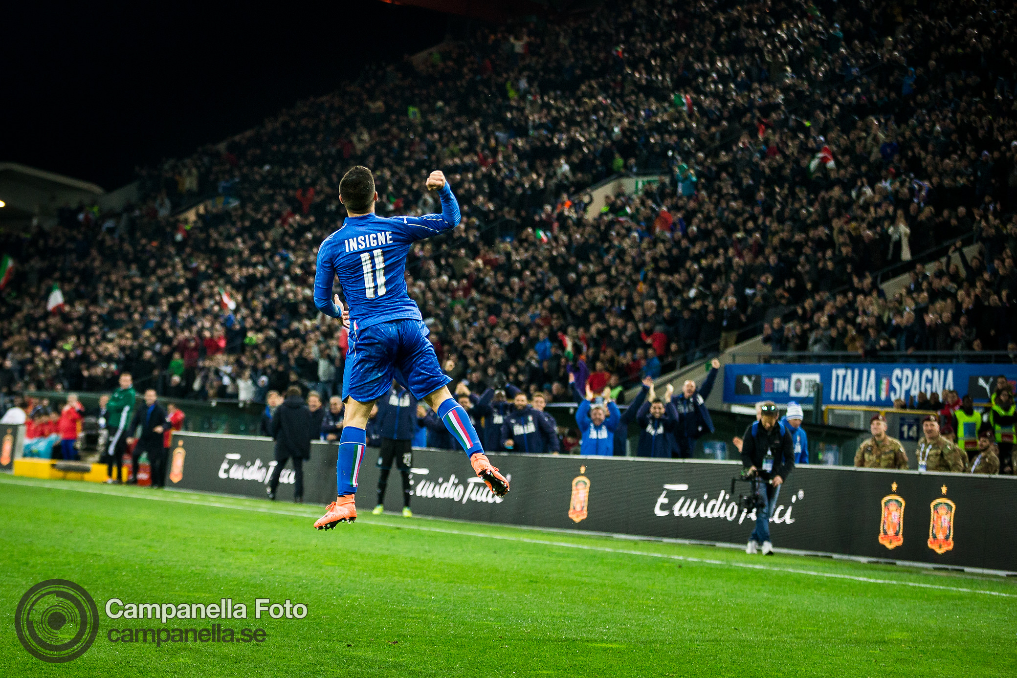 Italy vs Spain - Michael Campanella Photography