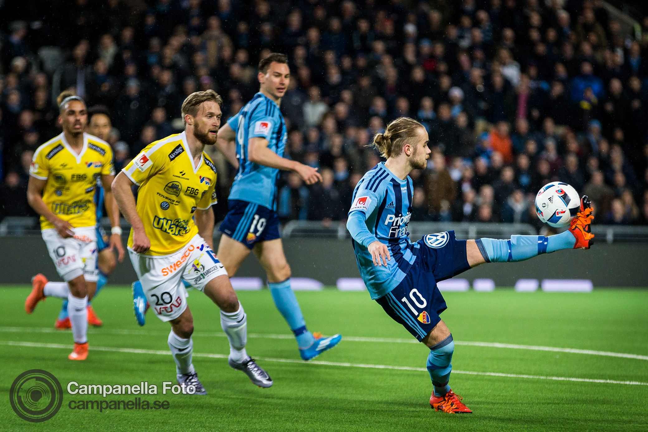 Djurgården crushes Falkenberg - Michael Campanella Photography
