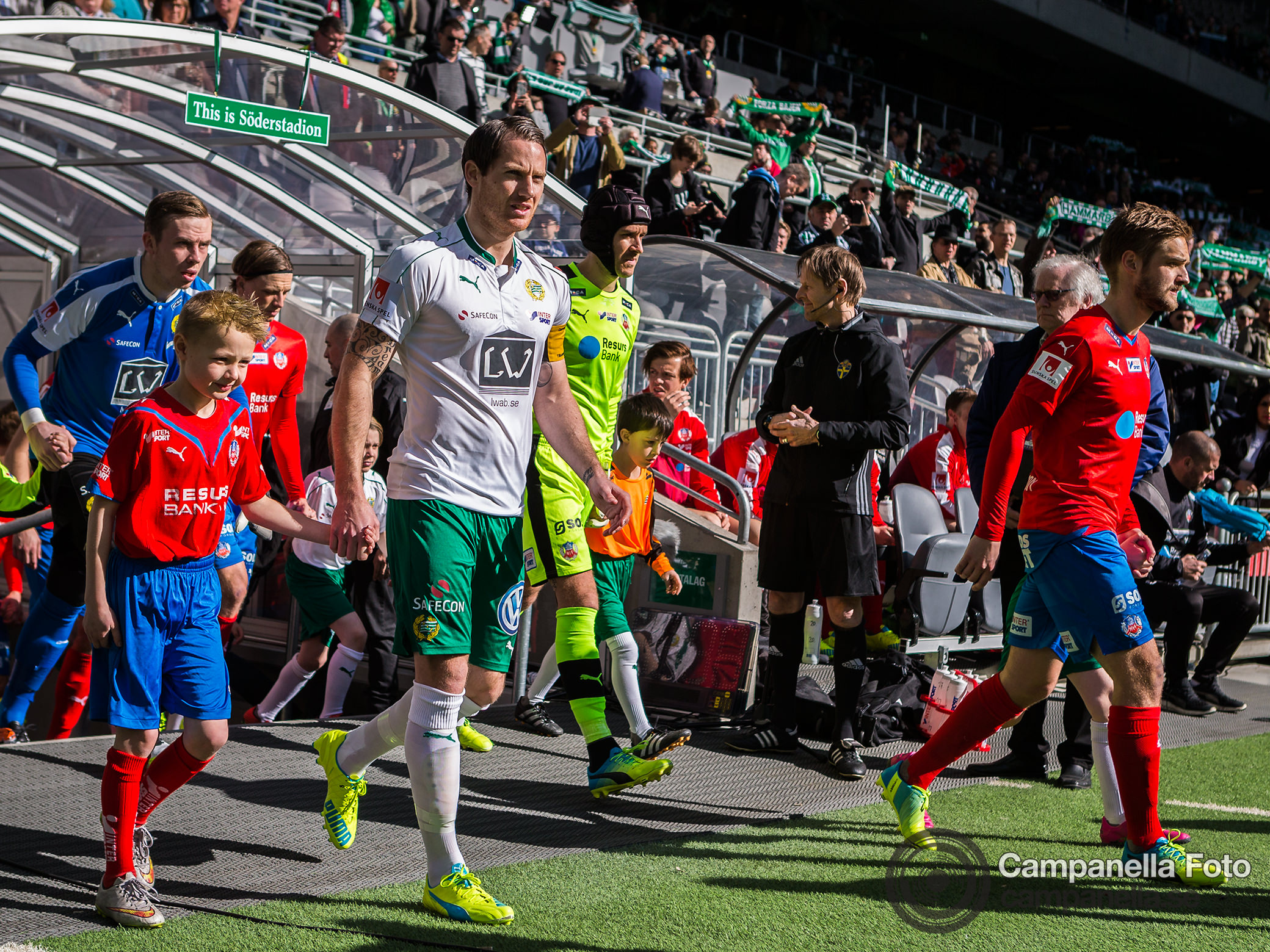 Hammarby crushes Helsingborg - Michael Campanella Photography