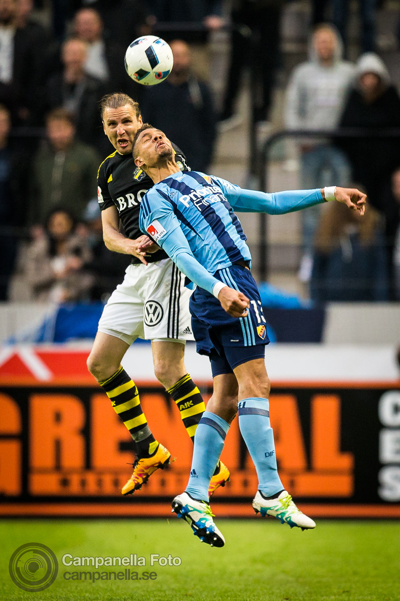 AIK crushes Djurgården and claims the derby - Michael Campanella Photography