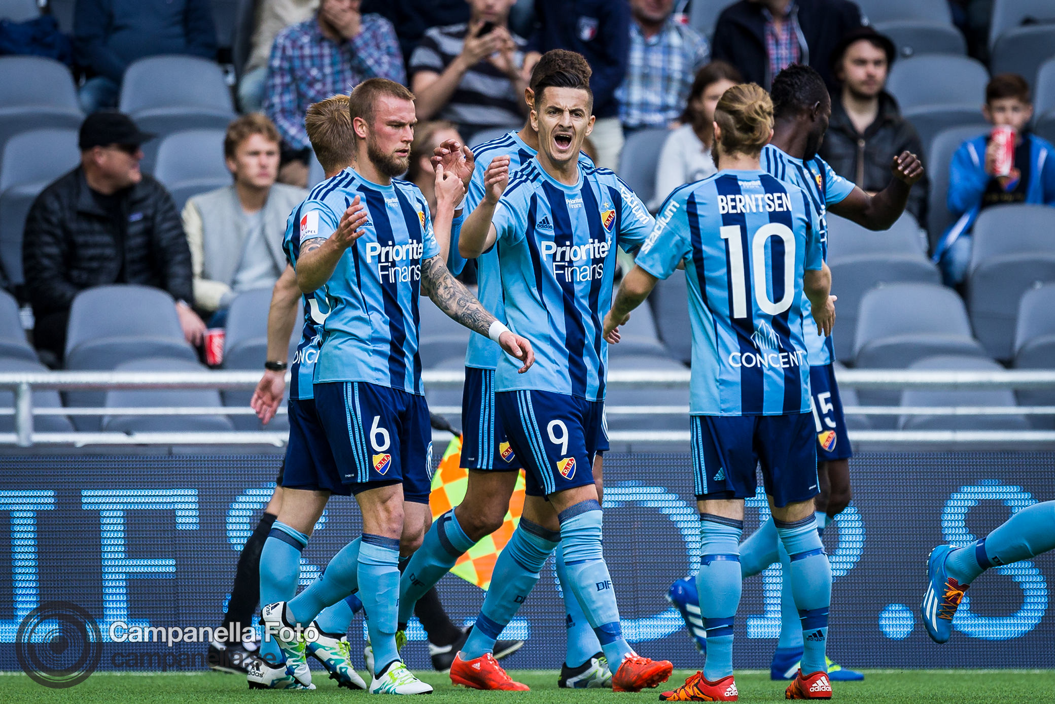 Djurgården gets back to winning - Michael Campanella Photography
