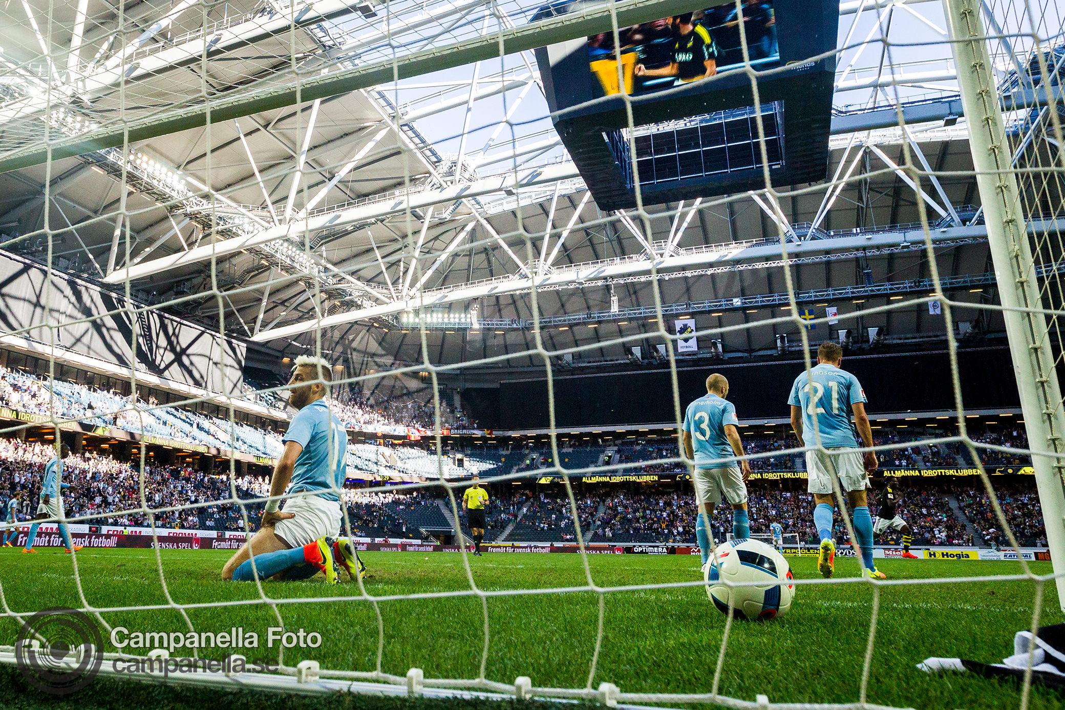 AIK holds Malmö to a draw - Michael Campanella Photography
