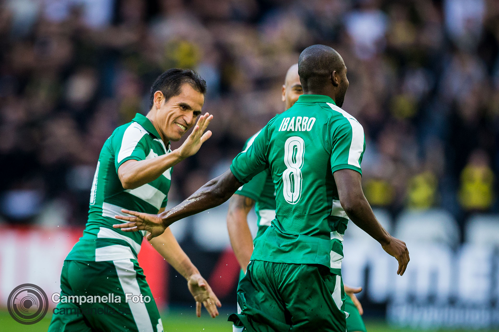 Panathinaikos end AIK's European dreams - Michael Campanella Photography