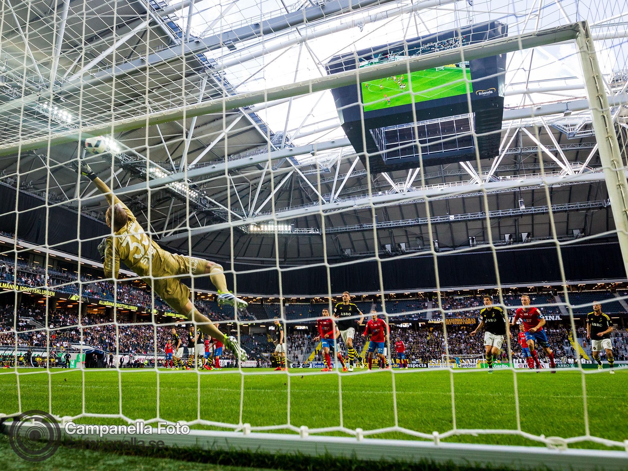 AIK comeback to win against Helsingborg - Michael Campanella Photography