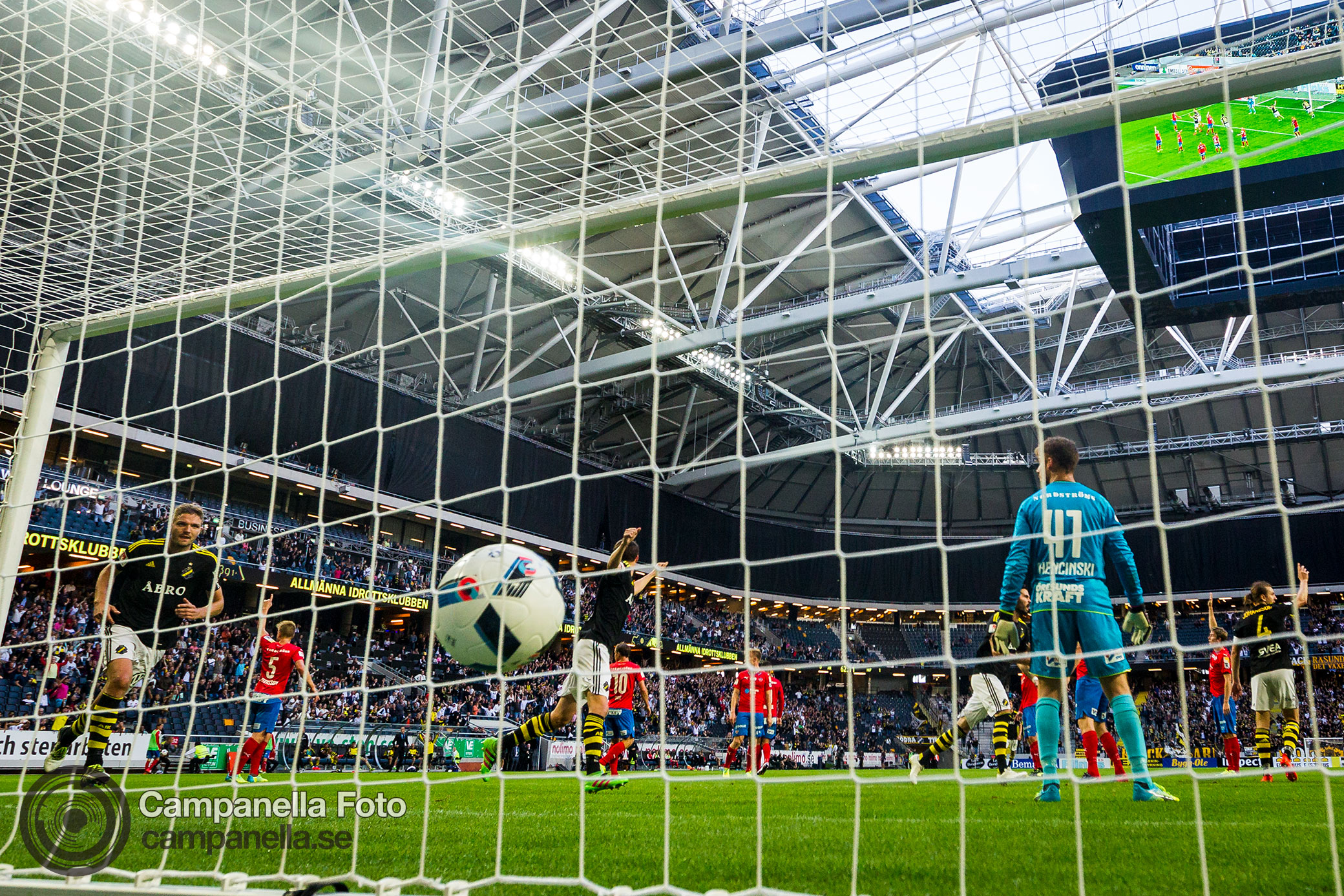 AIK comeback to win against Helsingborg - Michael Campanella Photography