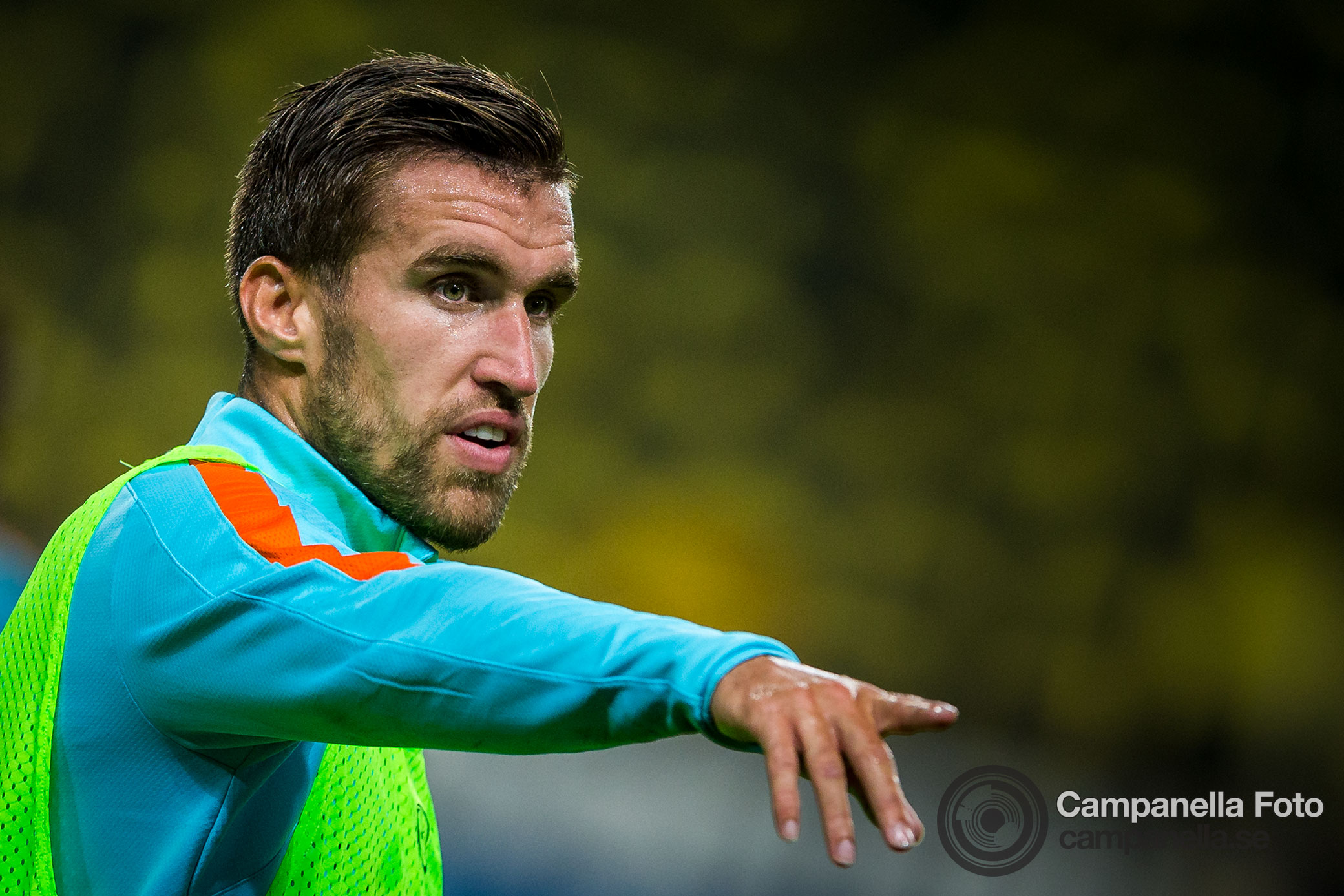Strootman in Stockholm - Michael Campanella Photography