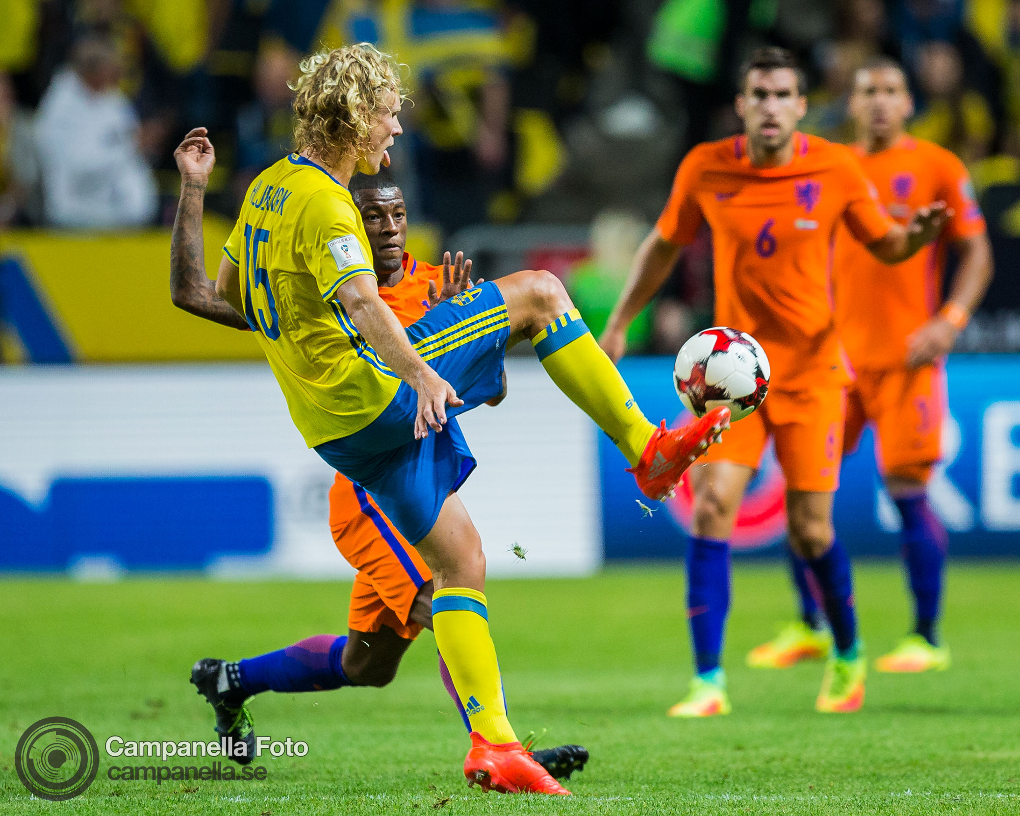 Sweden steals a point against the Netherlands - Michael Campanella Photography