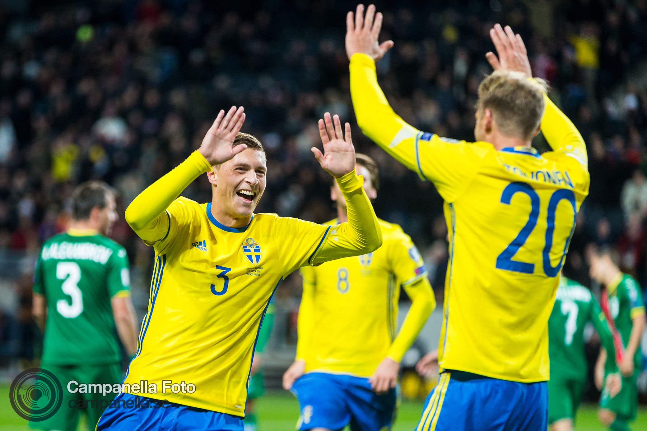 Sweden easily crushes Bulgaria - Michael Campanella Photography