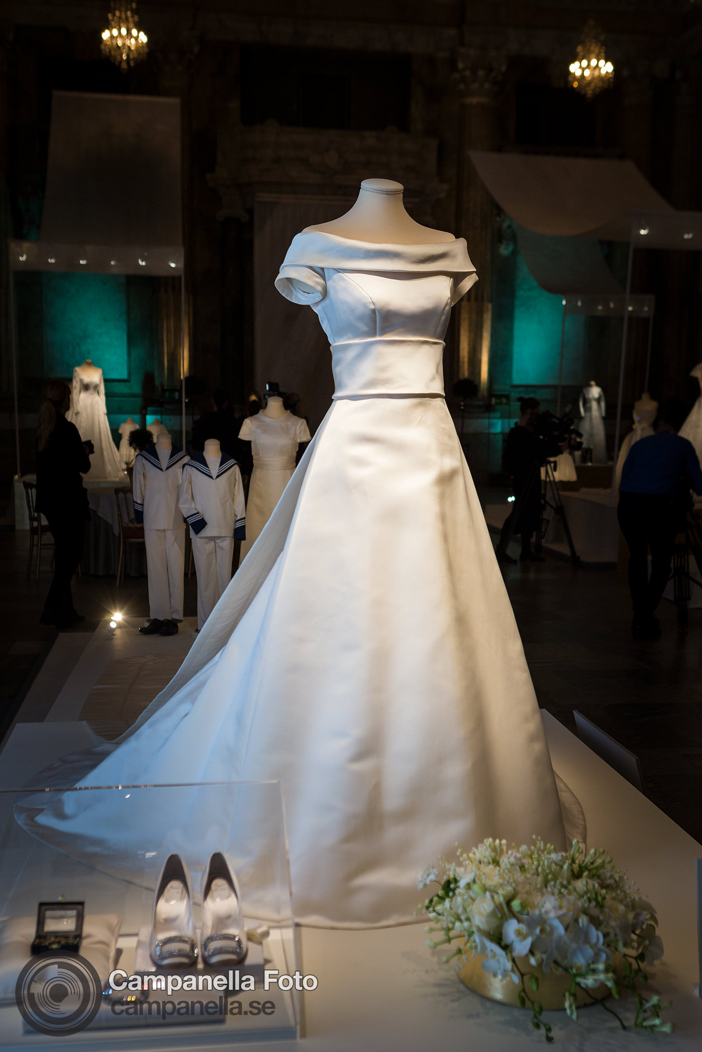 Royal wedding dresses exhibition - Michael Campanella Photography