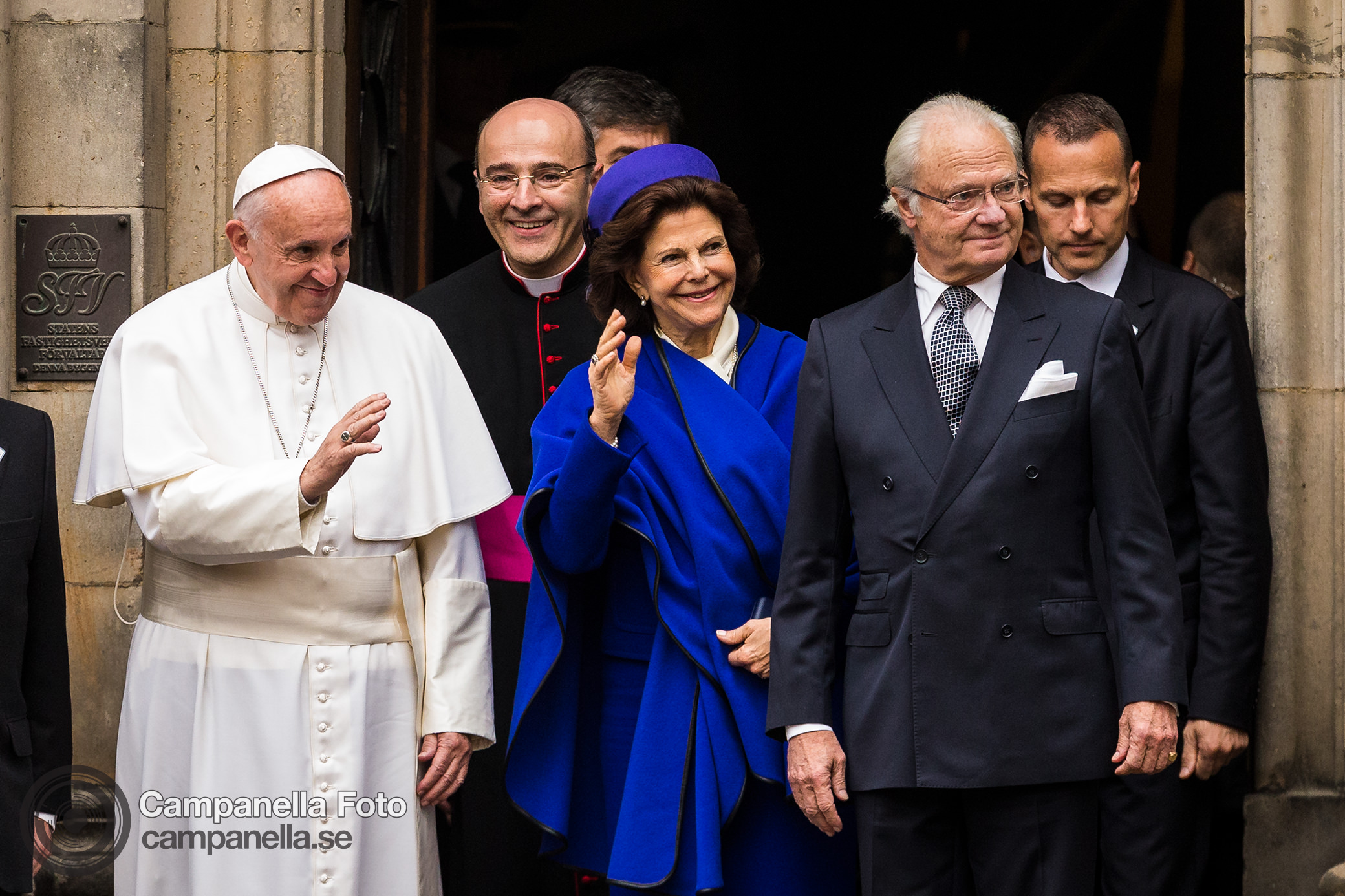 Pope Francis visits Sweden - Michael Campanella Photography