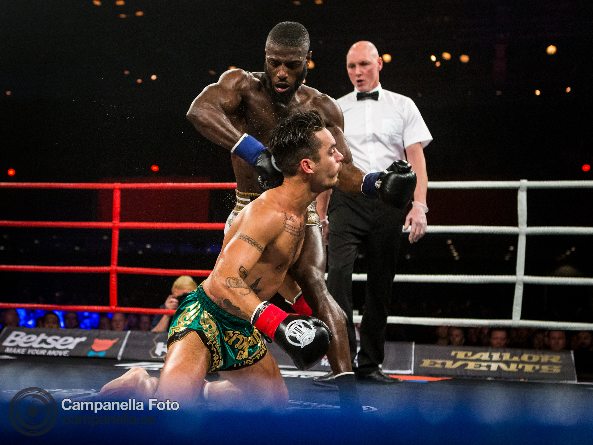 3 frames from the Rumble of the Kings - Michael Campanella Photography