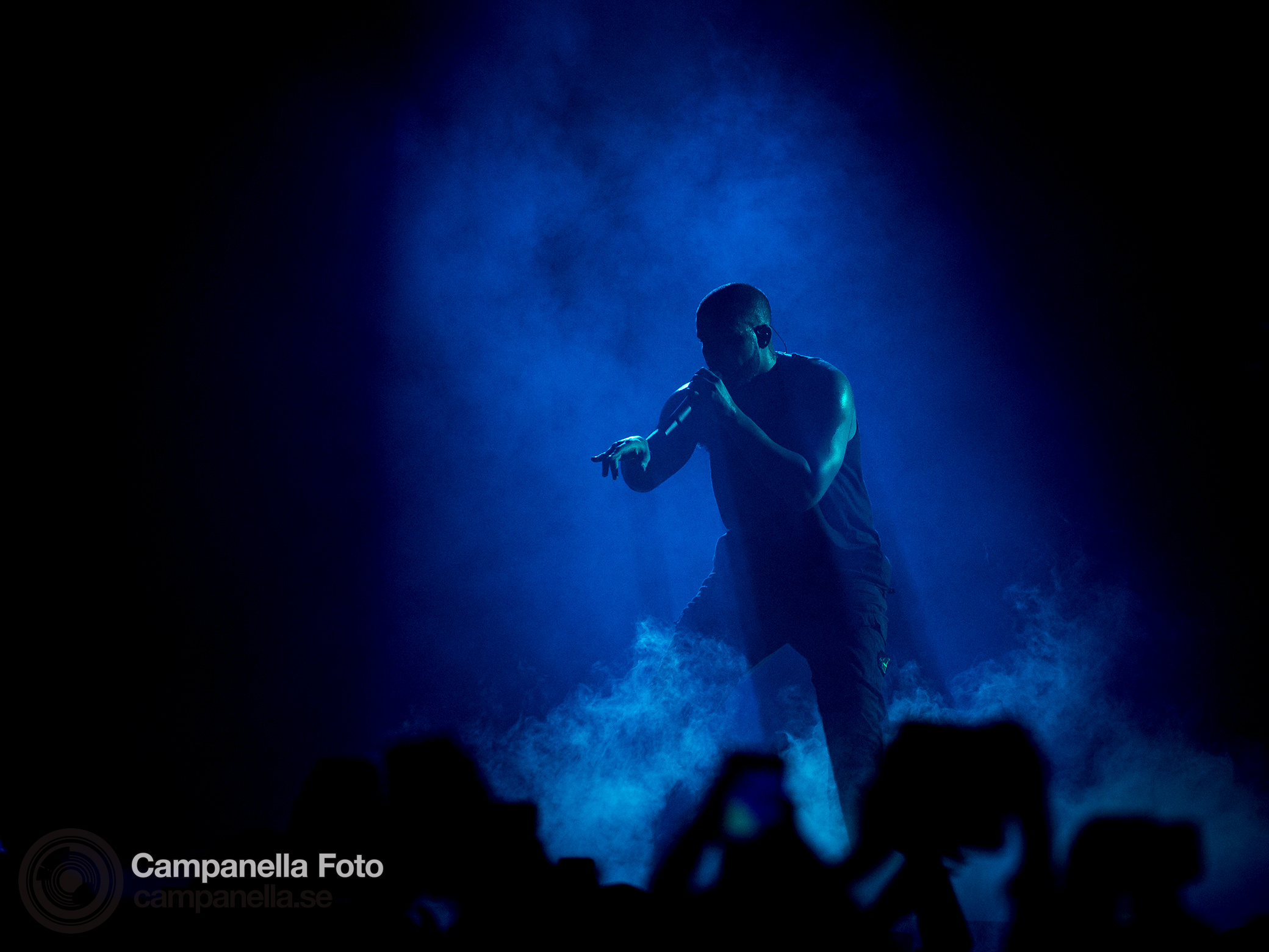 Drake performs at the Ericsson Globe Arena - Michael Campanella Photography