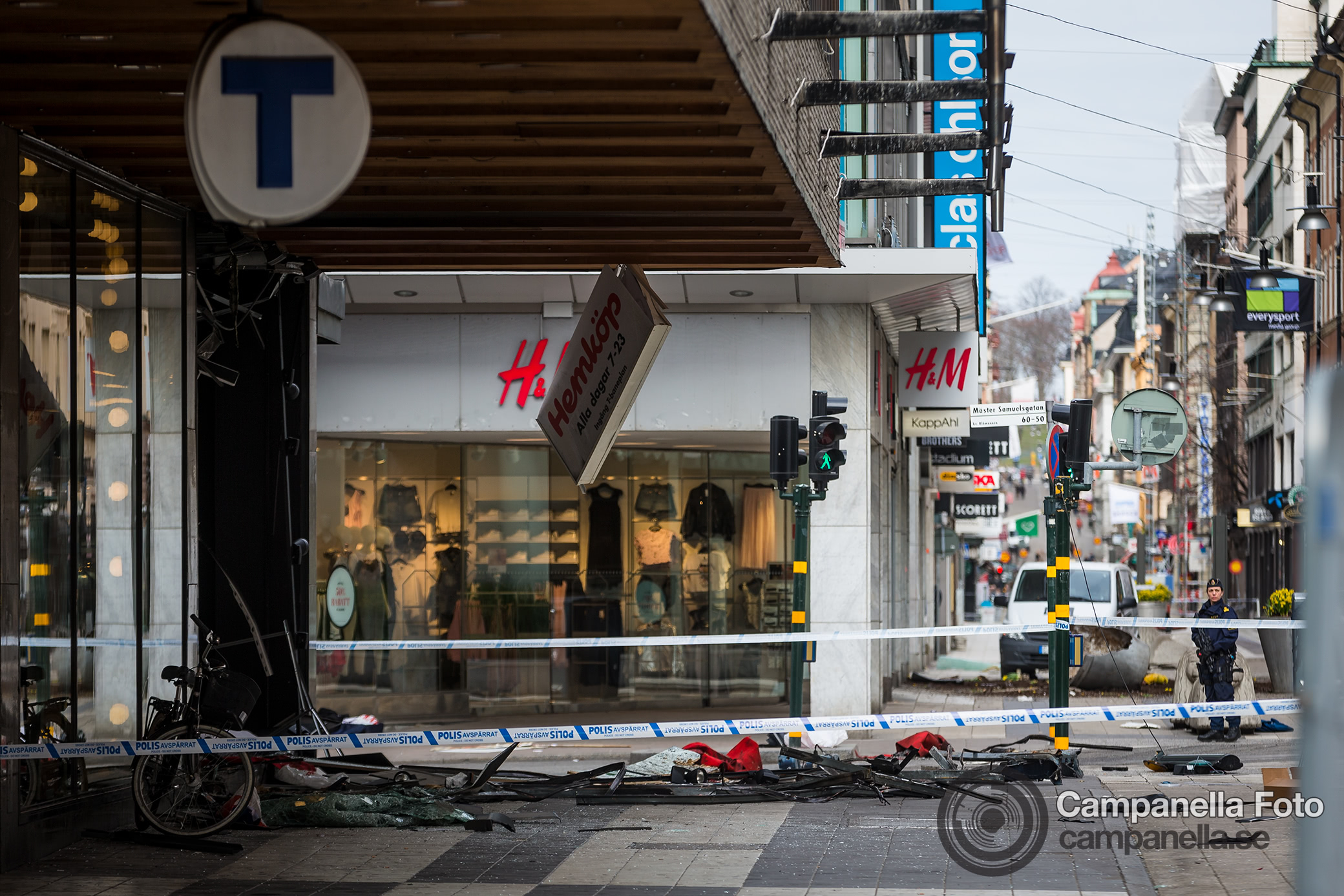 Aftermath of the Stockholm terrorist attack - Michael Campanella Photography