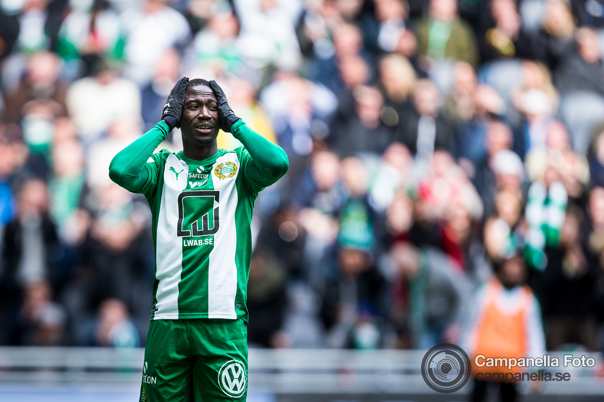 Hammarby - Sundsvall ends in a stale mate - Michael Campanella Photography
