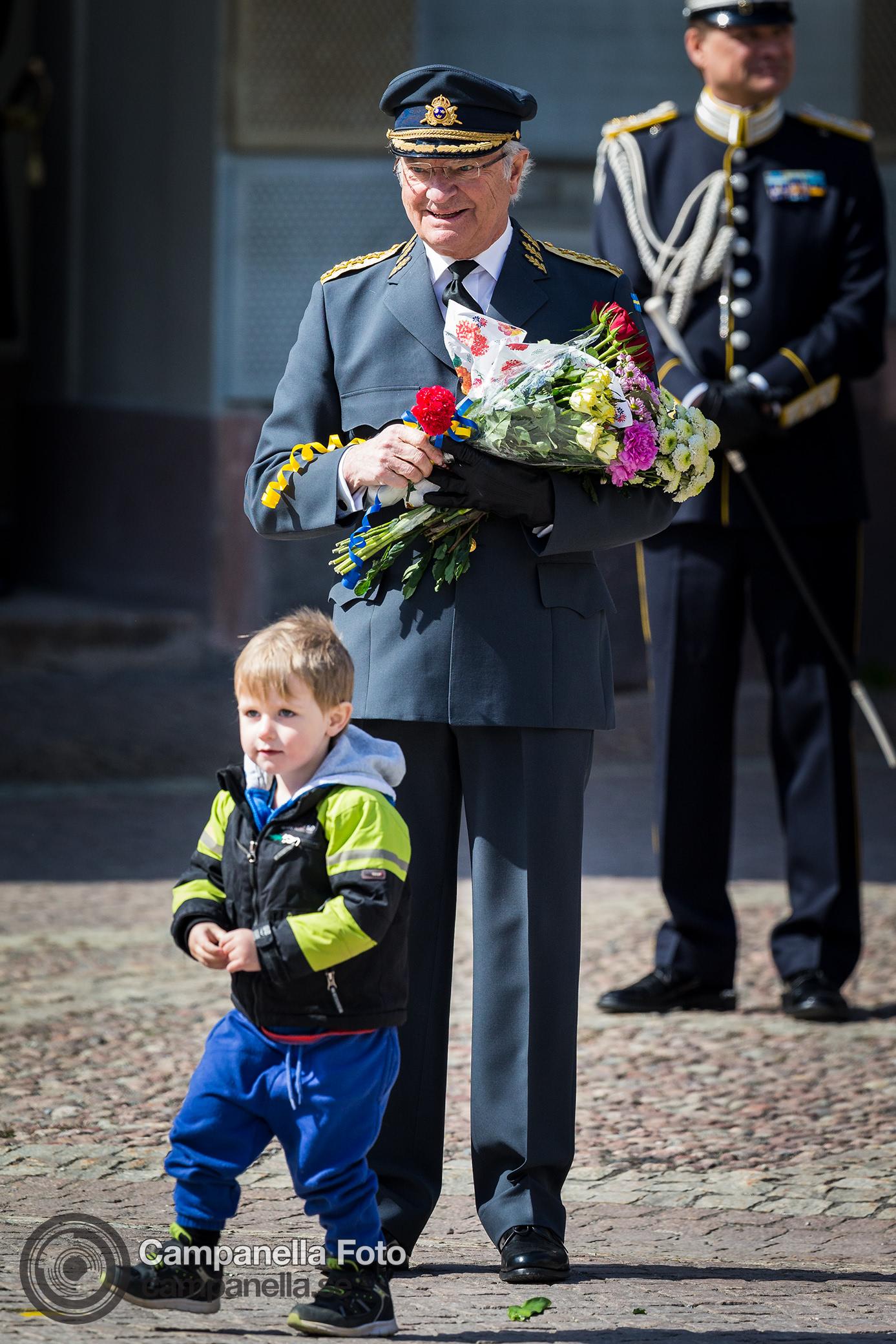 Celebrating Carl Gustav XVI's 71st birthday - Michael Campanella Photography