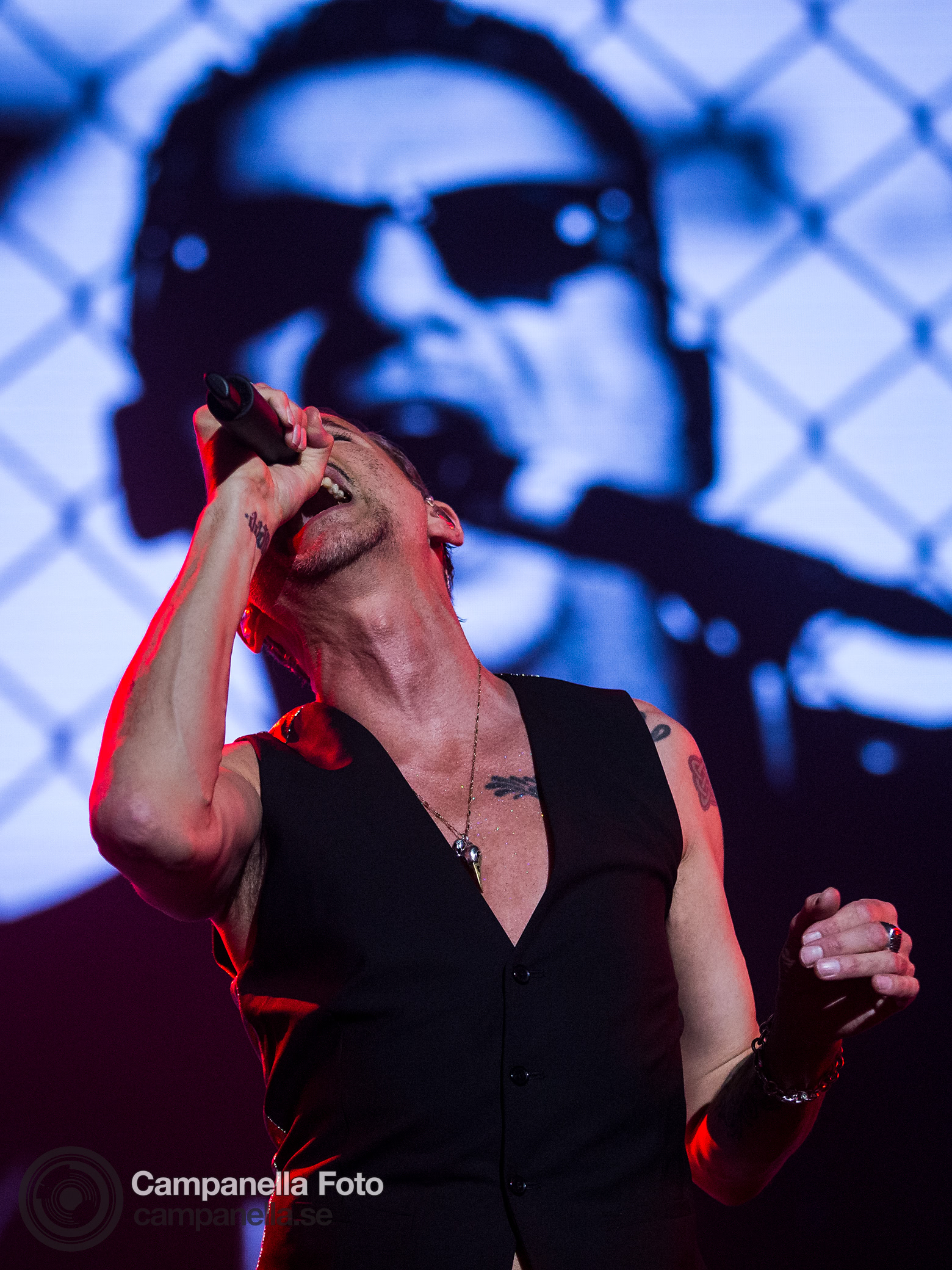 Depeche Mode performs in Stockholm - Michael Campanella Photography