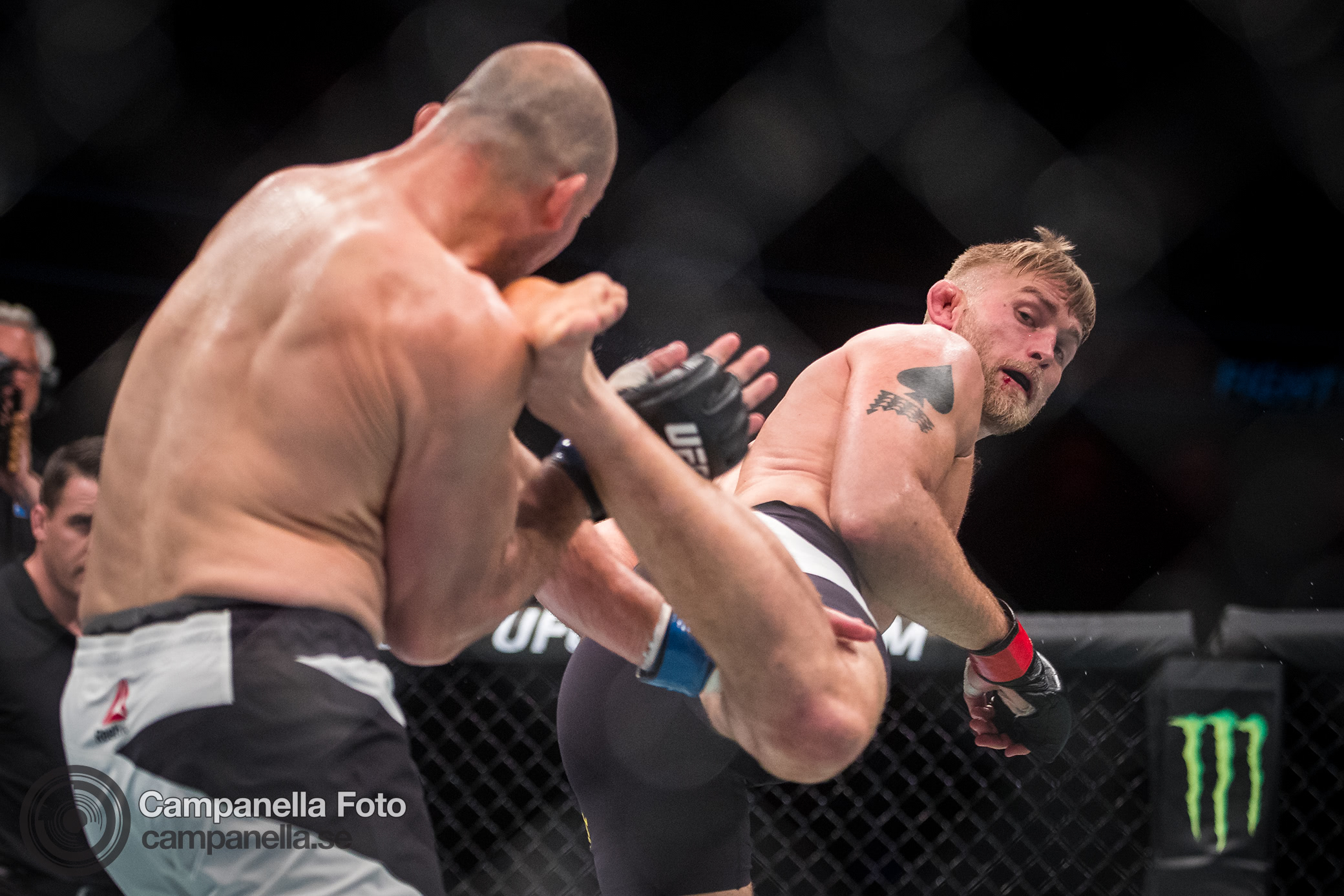 The Mauler back in action with the UFC - Michael Campanella Photography