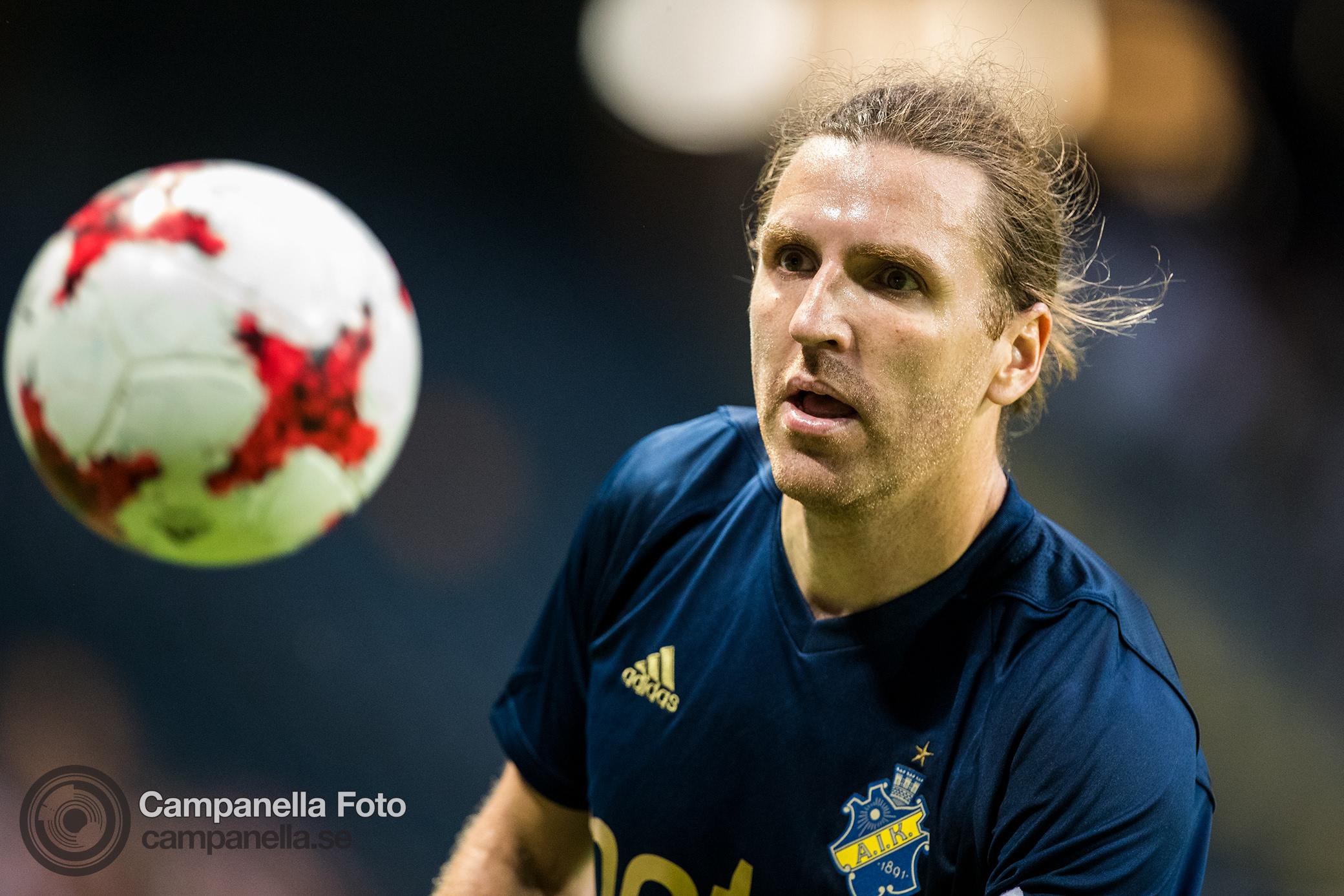 Sundgren penalty keeps hope alive for AIK - Michael Campanella Photography