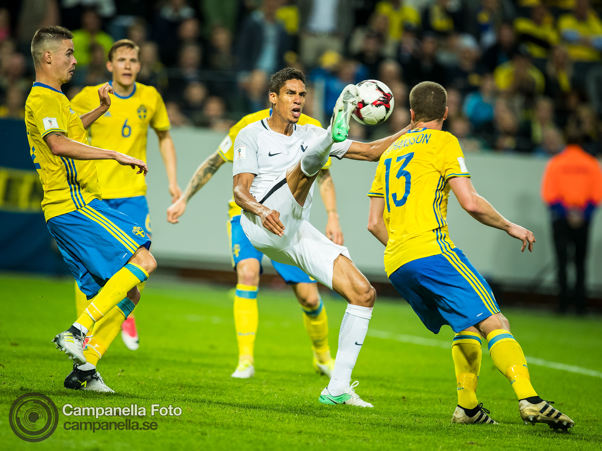 Sweden shocks France with last minute winner - Michael Campanella Photography
