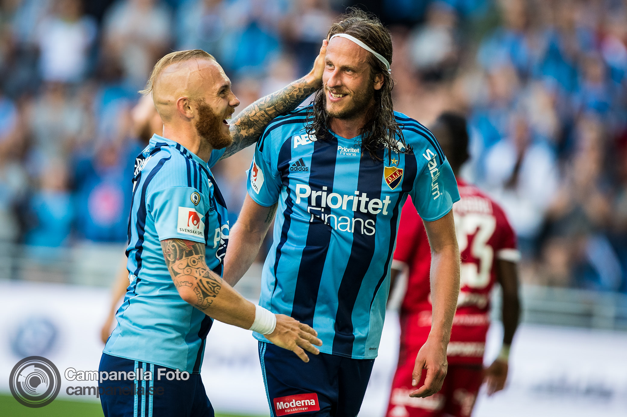 Djurgården sweeps away Östersund - Michael Campanella Photography