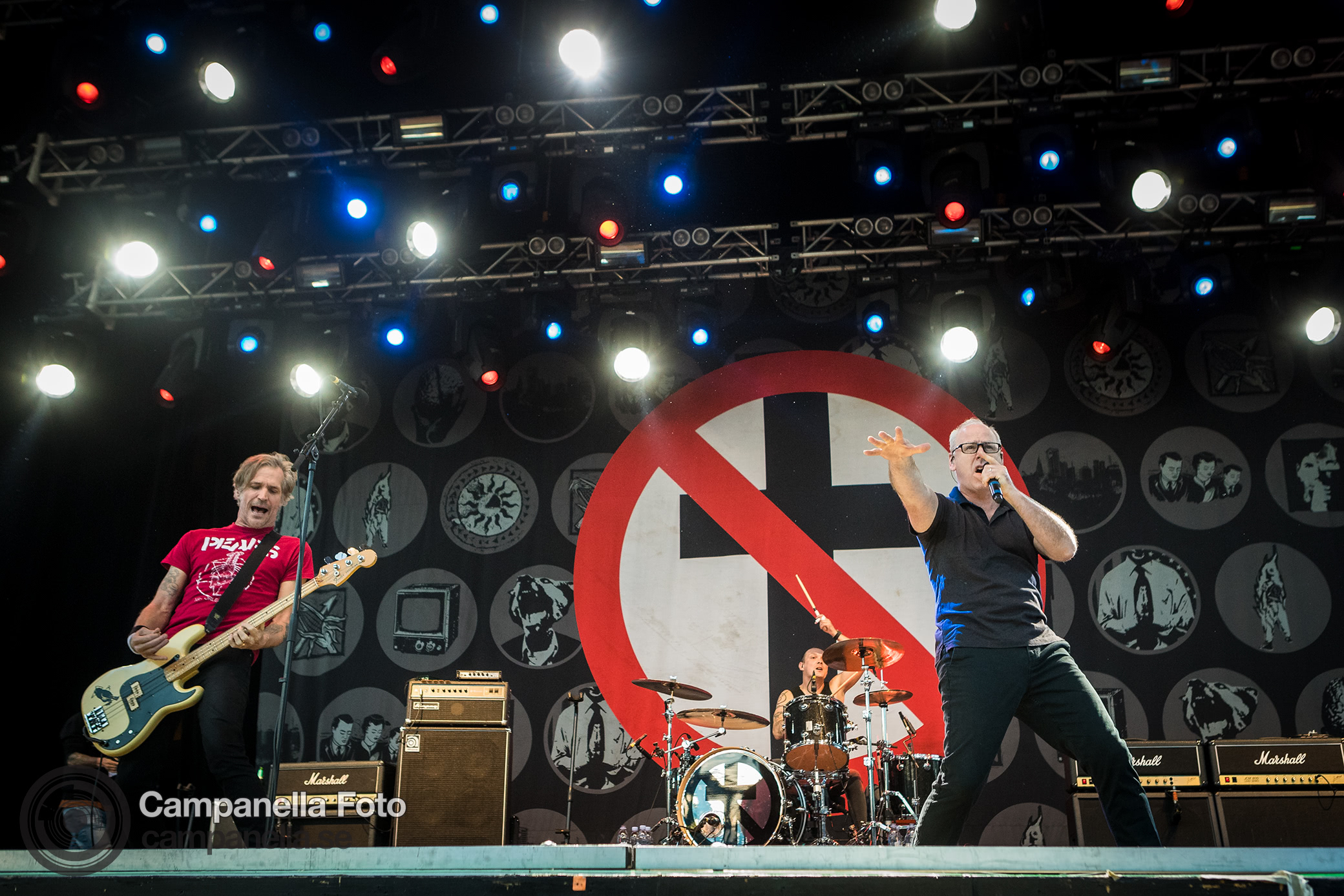 Bad Religion performs in Stockholm - Michael Campanella Photography