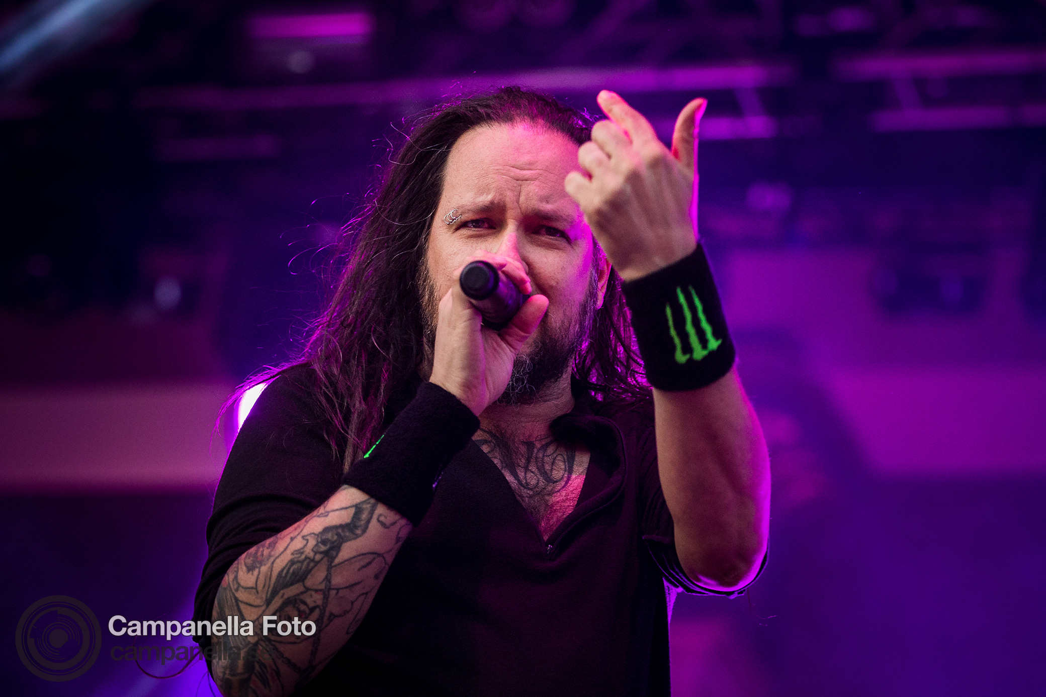 Korn performs in Stockholm - Michael Campanella Photography