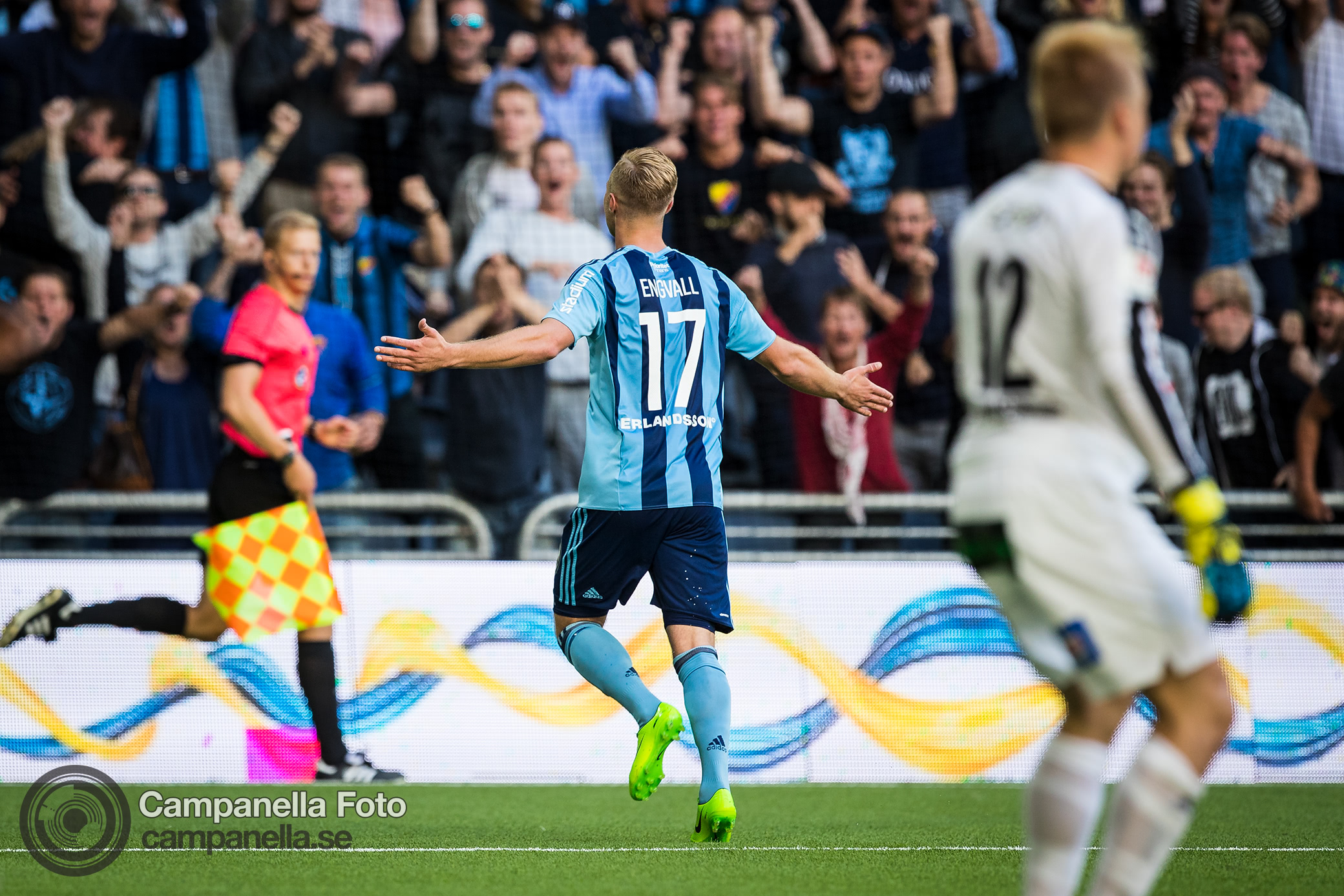 Engvall leads Djurgården to win against Halmstad - Michael Campanella Photography