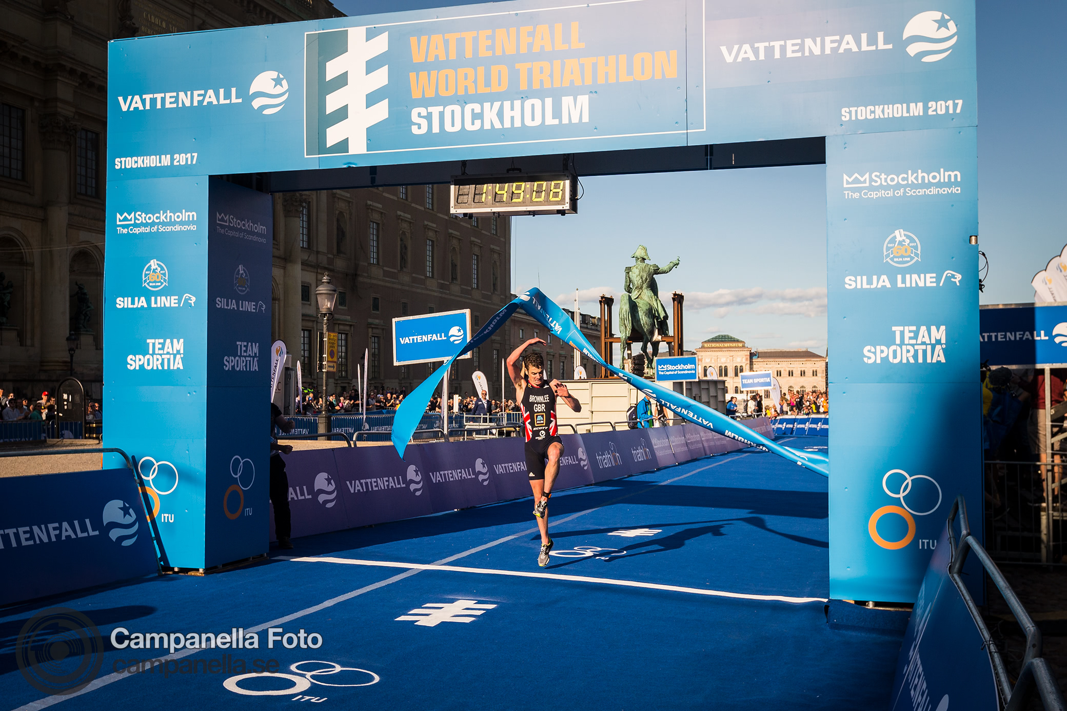 World Triathlon Series Stockholm - Michael Campanella Photography