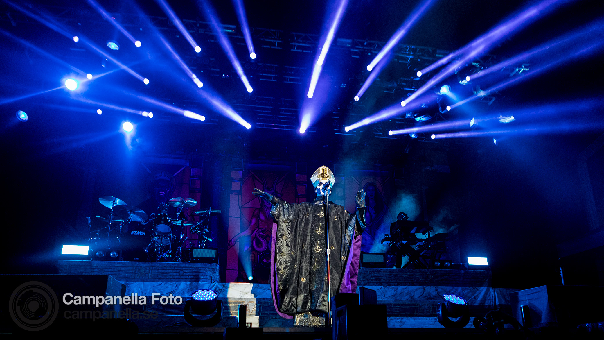 Ghost performs in Stockholm - Michael Campanella Photography