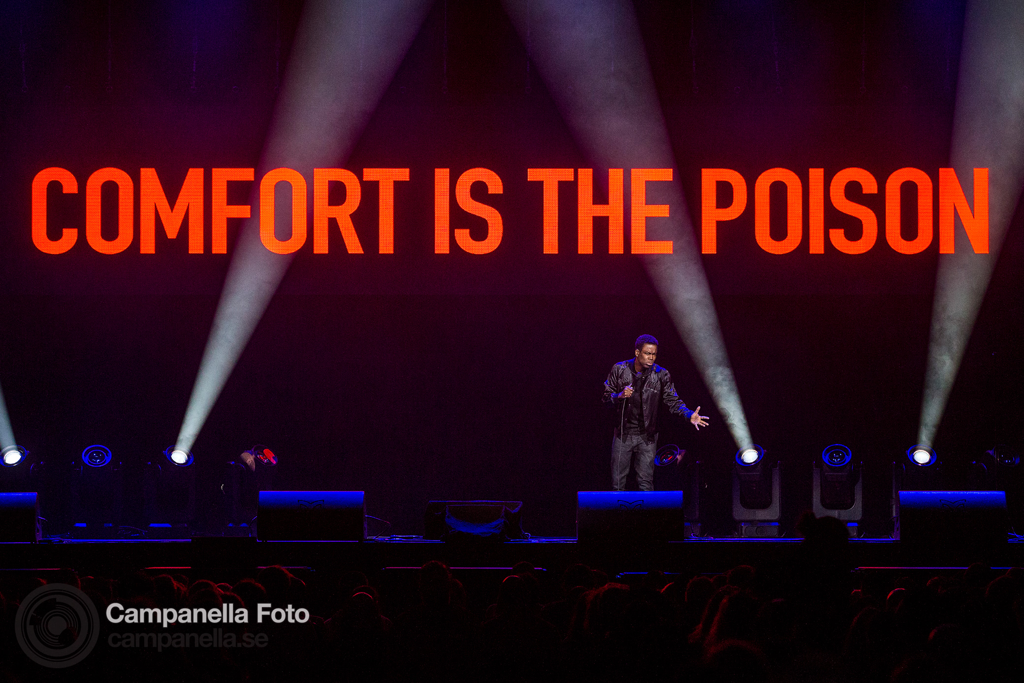 Chris Rock performs in Stockholm - Michael Campanella Photography