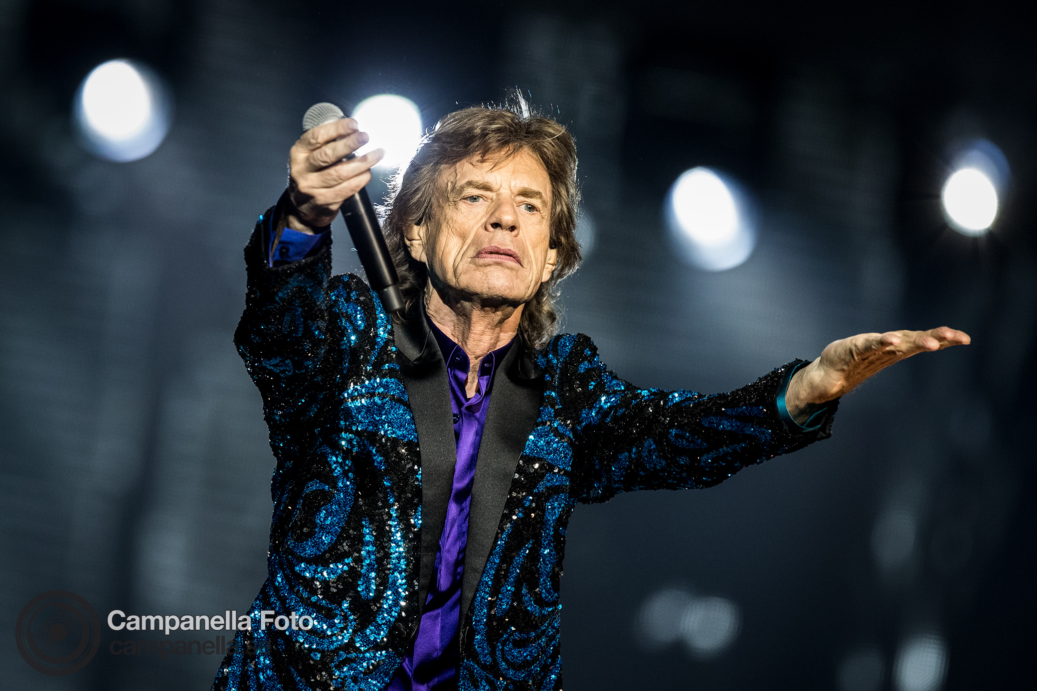 The Rolling Stones perform in Stockholm - Michael Campanella Photography