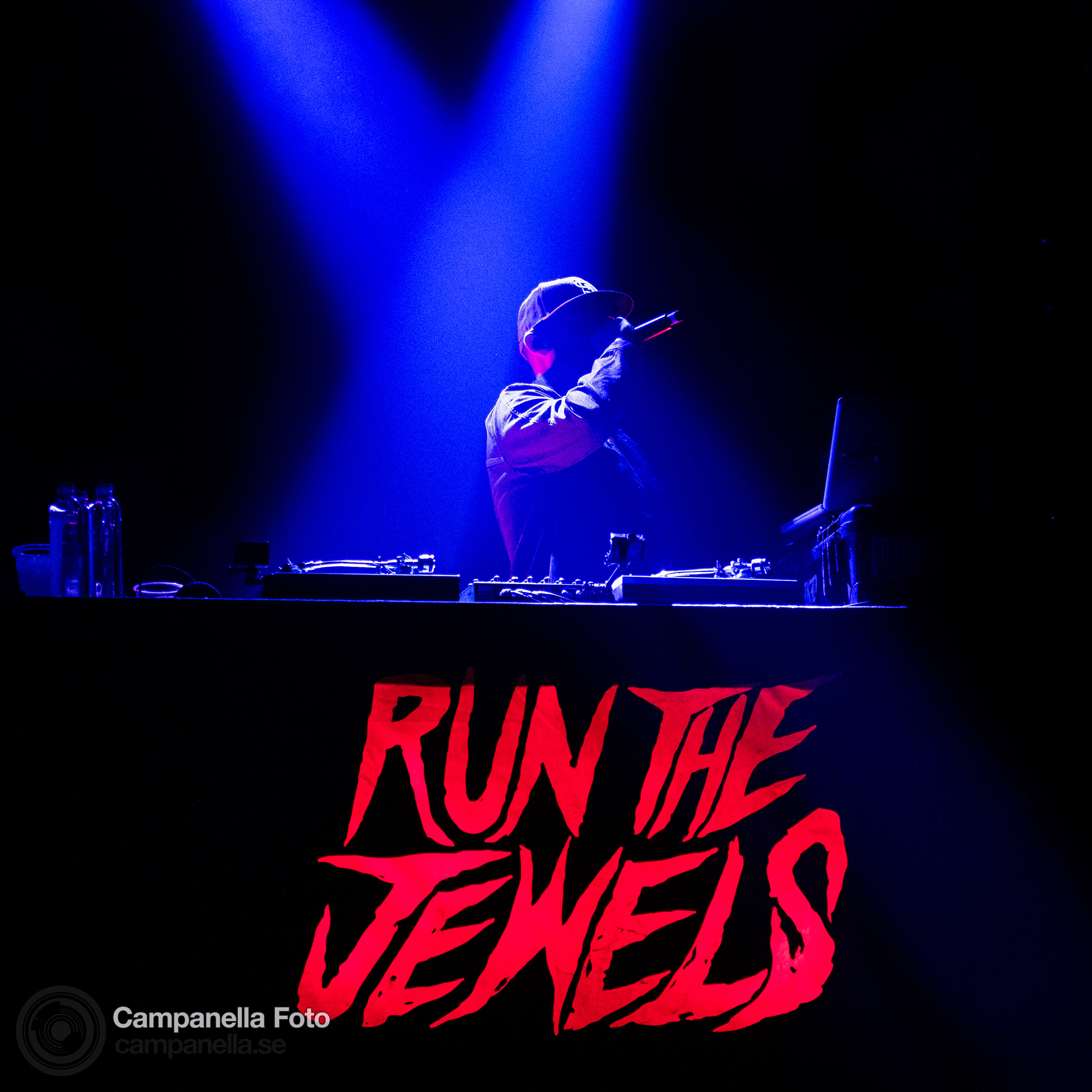 Run The Jewels performs in Stockholm - Michael Campanella Photography