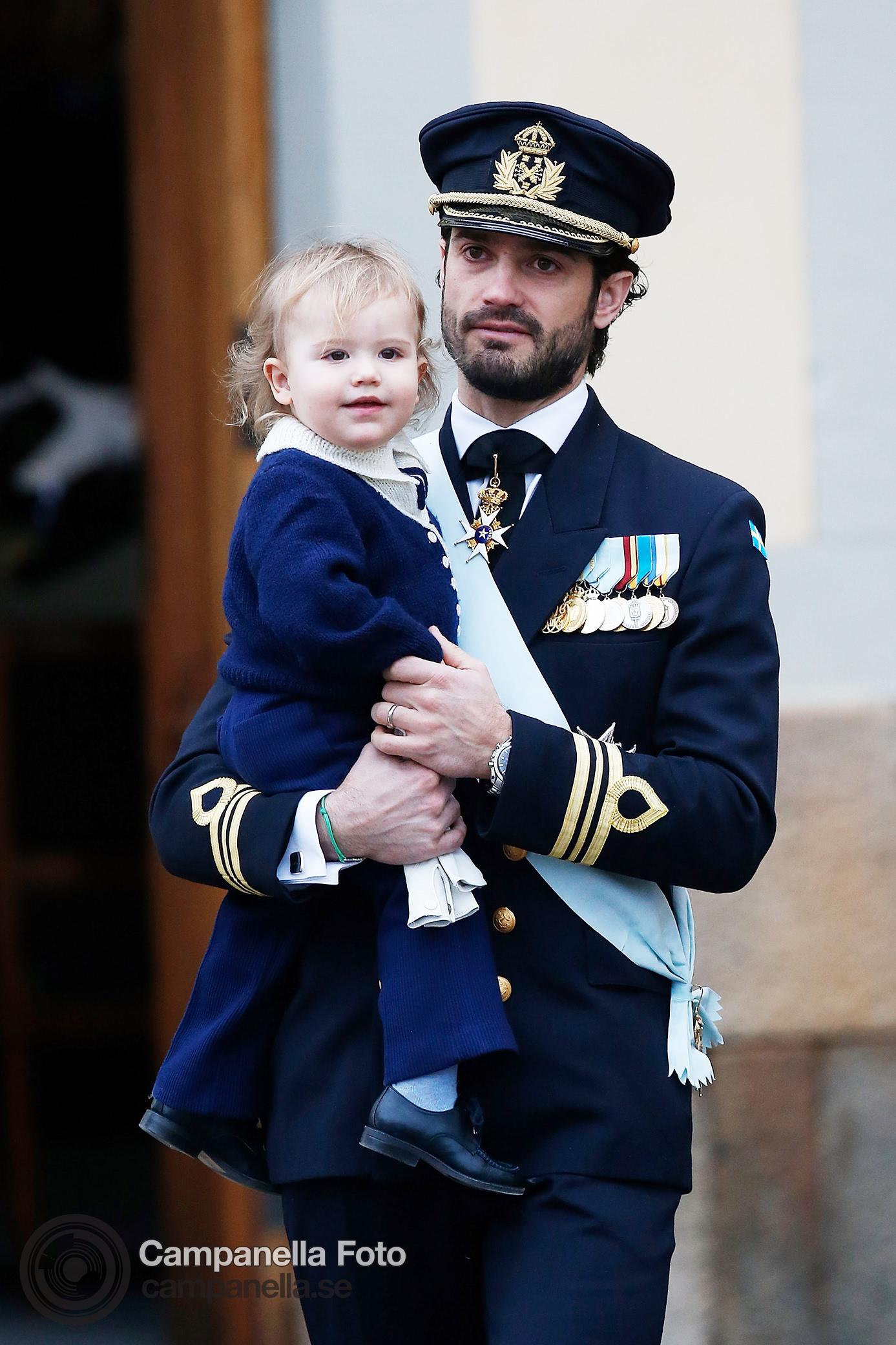 Prince Gabriel of Sweden's Baptism - Michael Campanella Photography