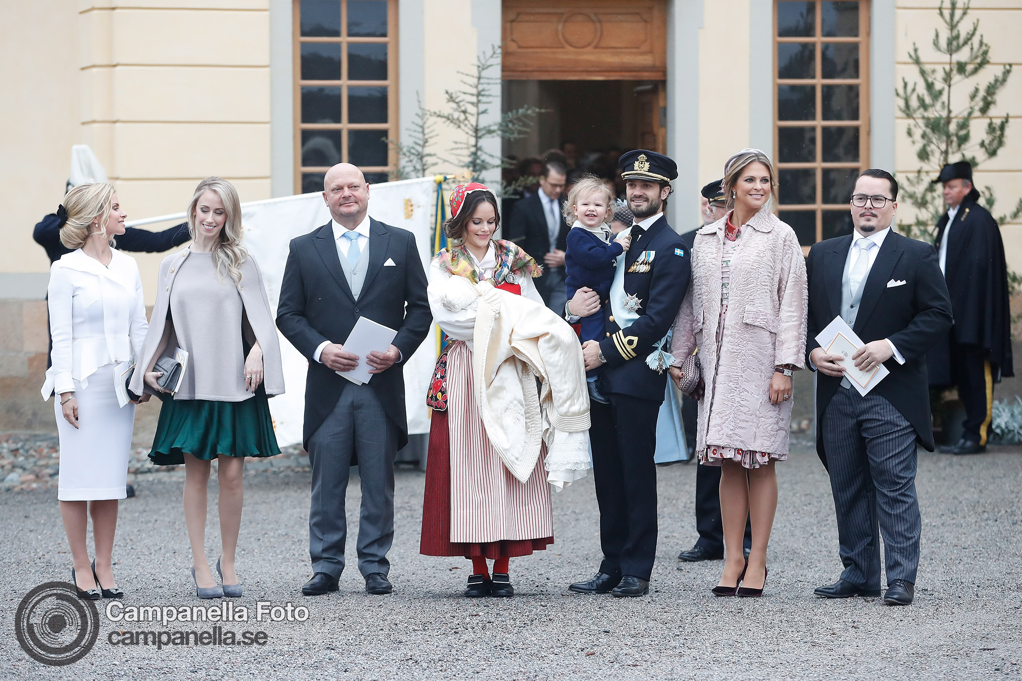 Prince Gabriel of Sweden's Baptism - Michael Campanella Photography