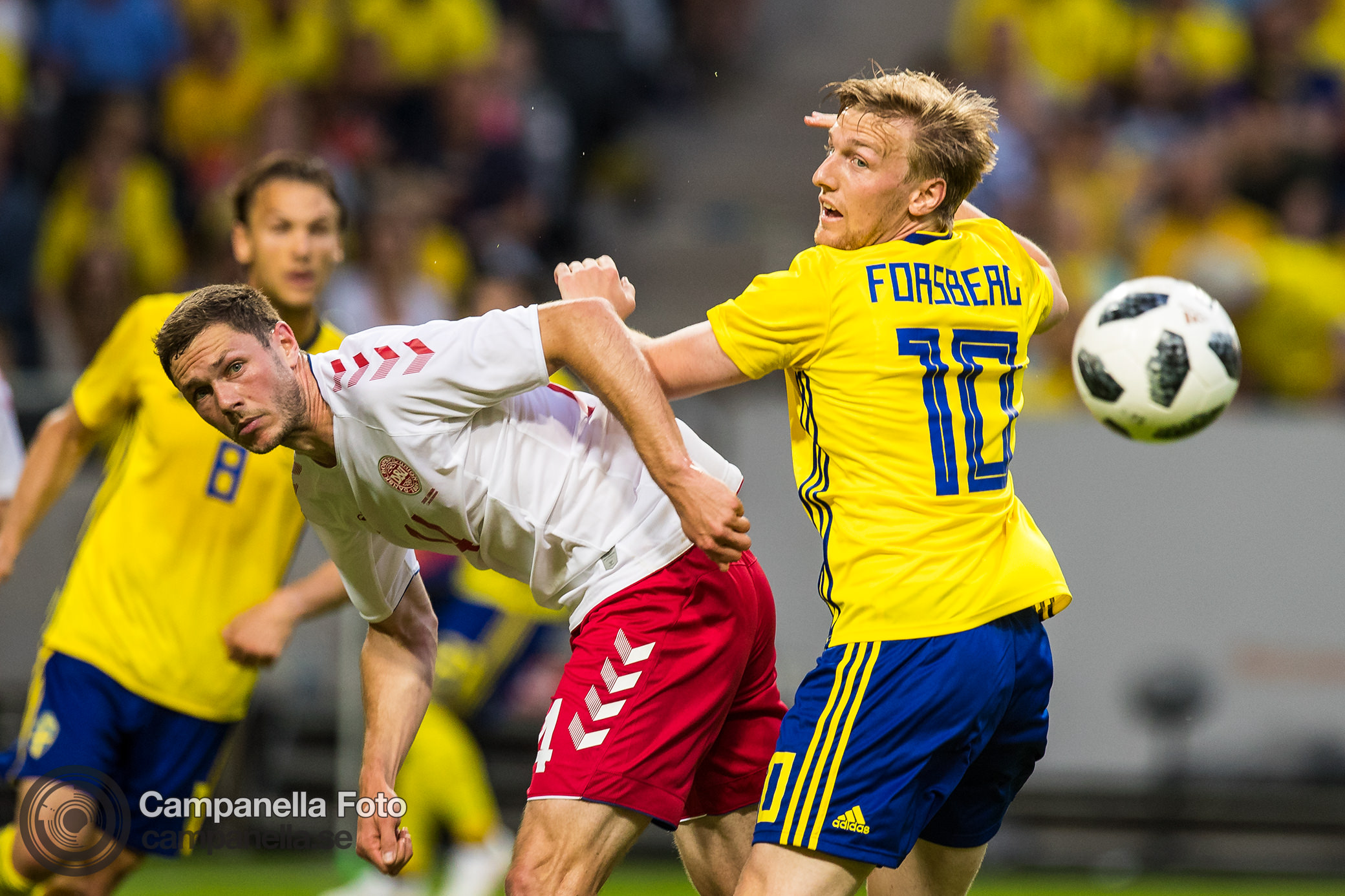 Goalless draw between Sweden & Denmark - Michael Campanella Photography