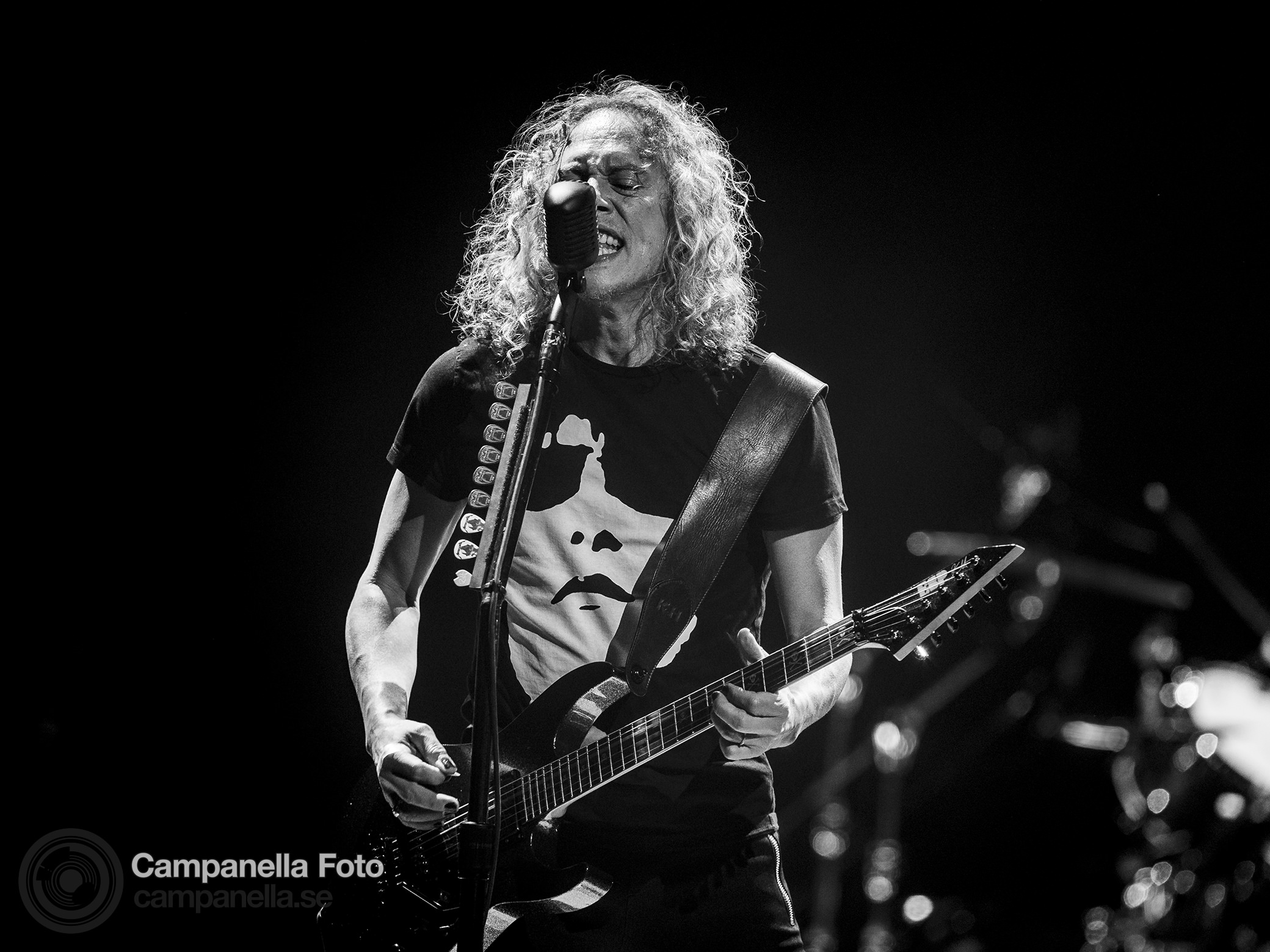 Metallica performs in Stockholm - Michael Campanella Photography