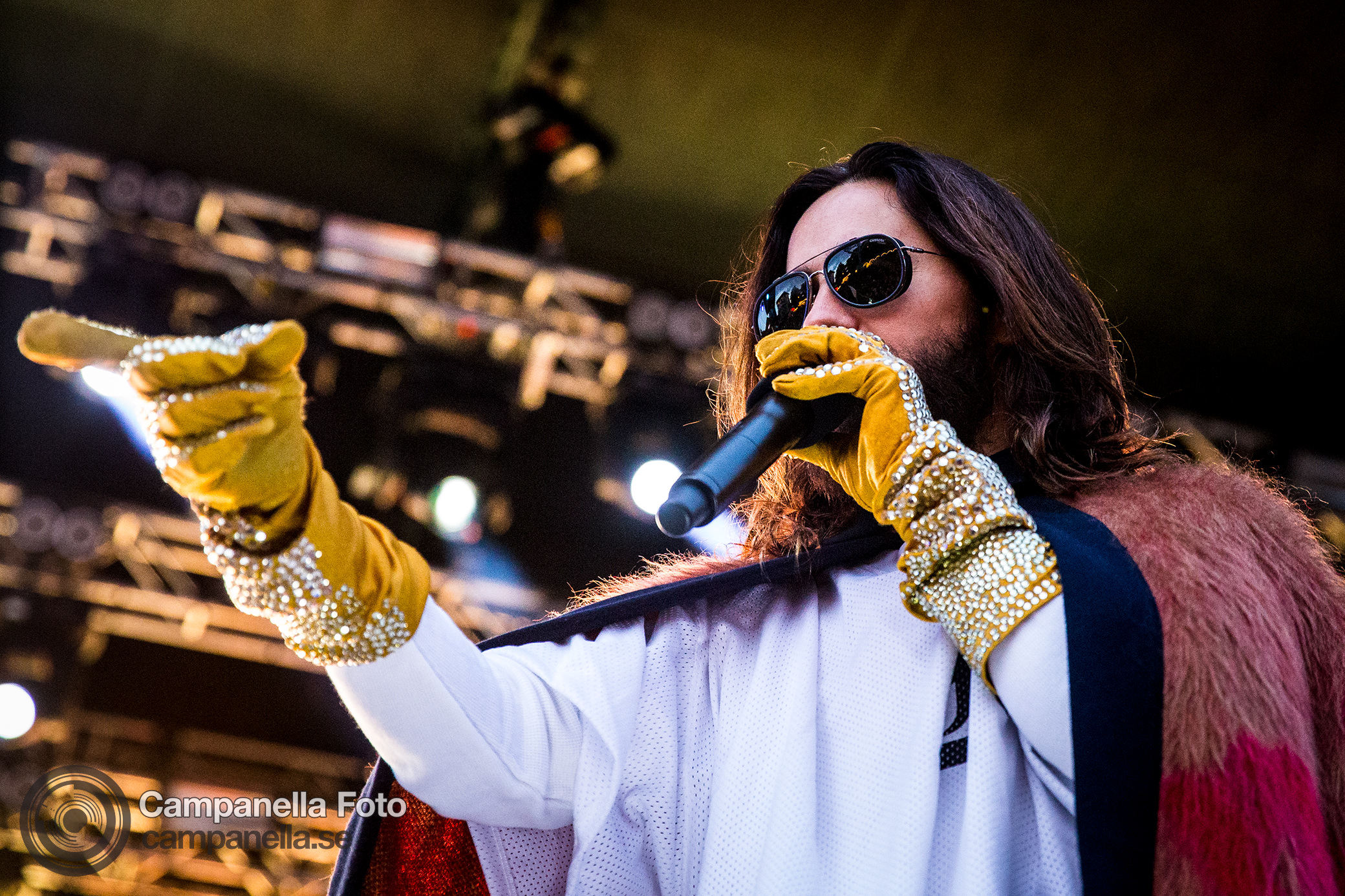 Thirty Seconds To Mars Perform in Concert in Stockholm - Michael Campanella Photography