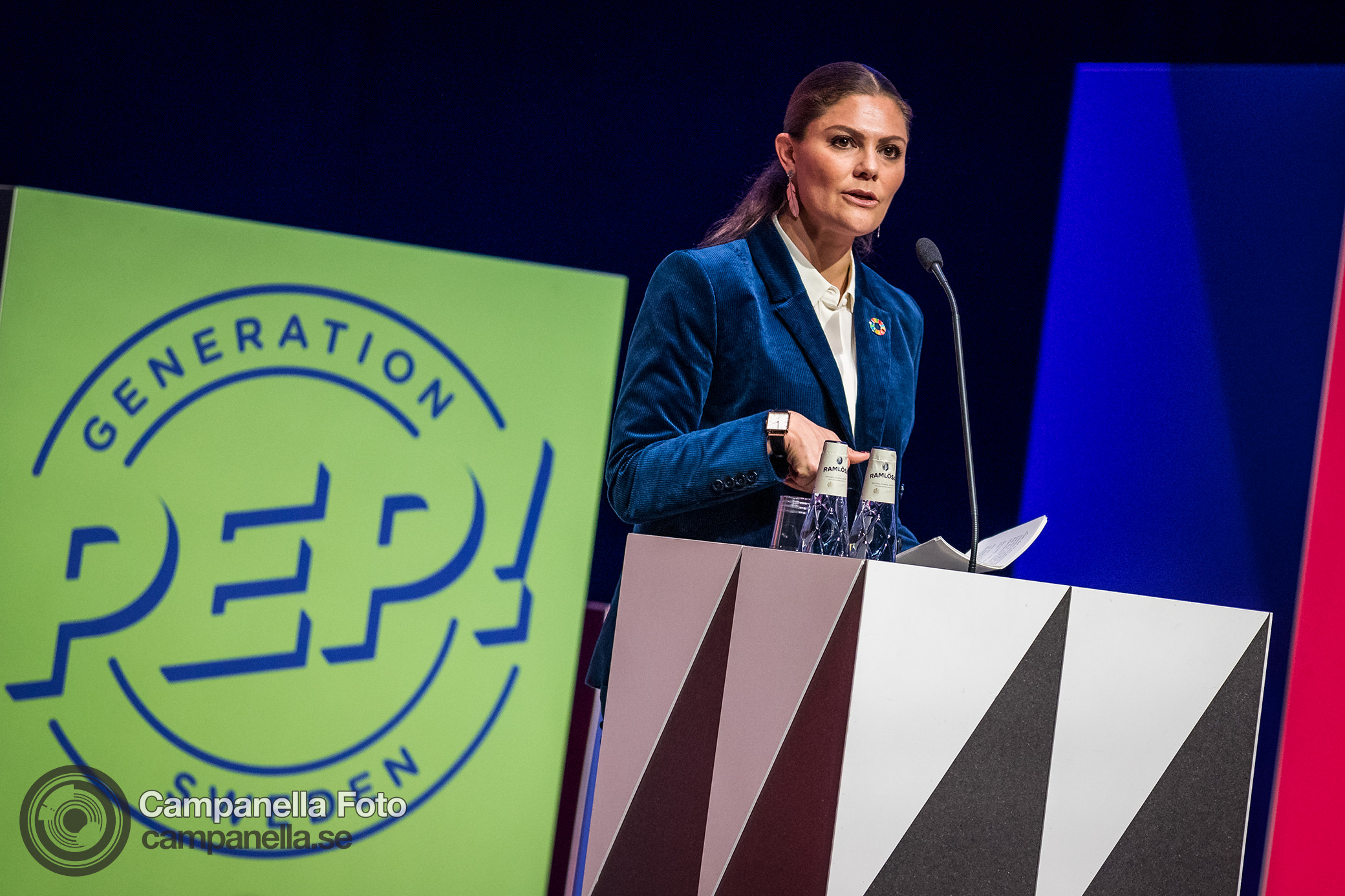Princess Victoria speaks at Generation Pep - Michael Campanella Photography