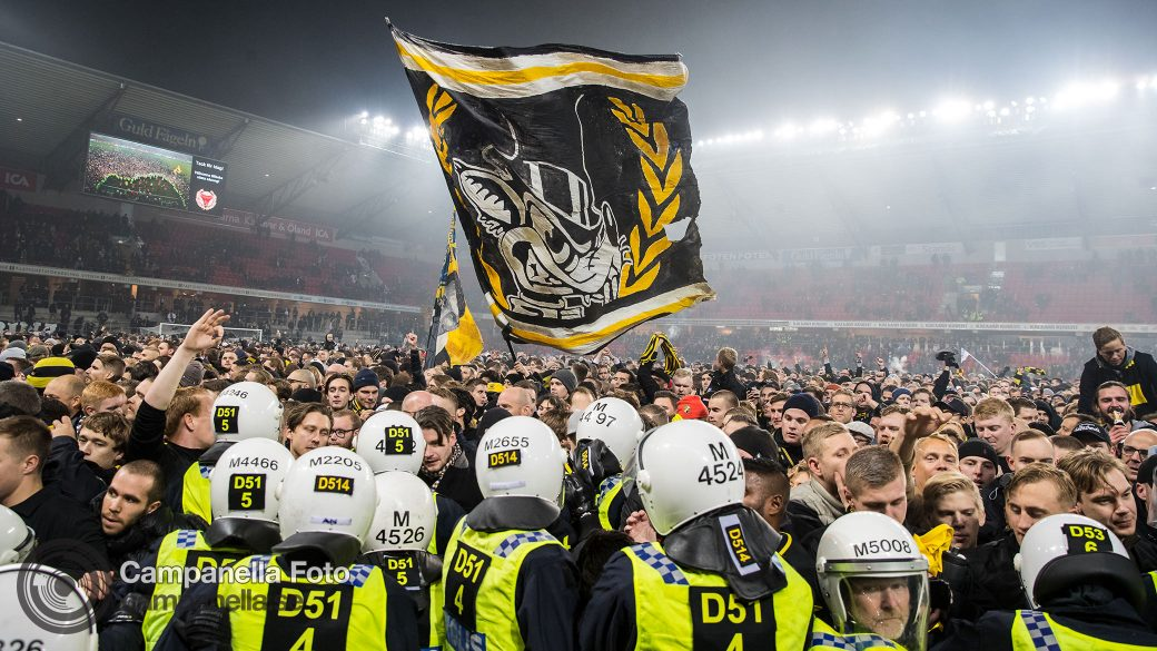 AIK wins 2018 Allsvenskan - Michael Campanella Photography