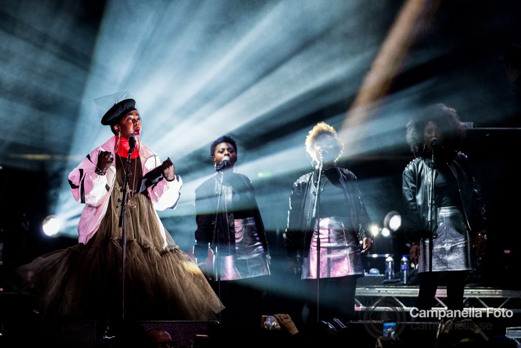 Lauryn Hill performs in Stockholm - Michael Campanella Photography