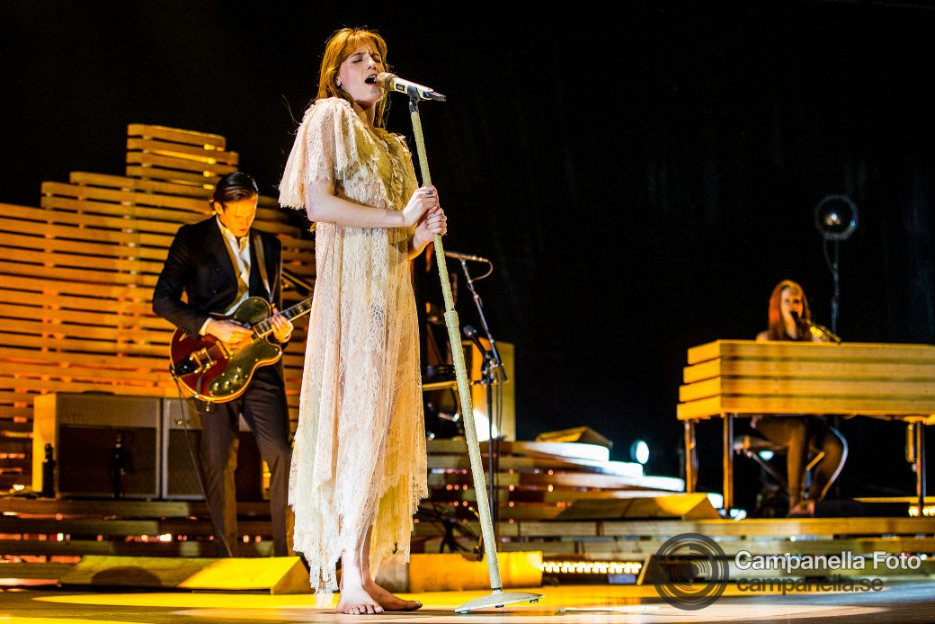 Florence + The Machine performs in Stockholm - Michael Campanella Photography