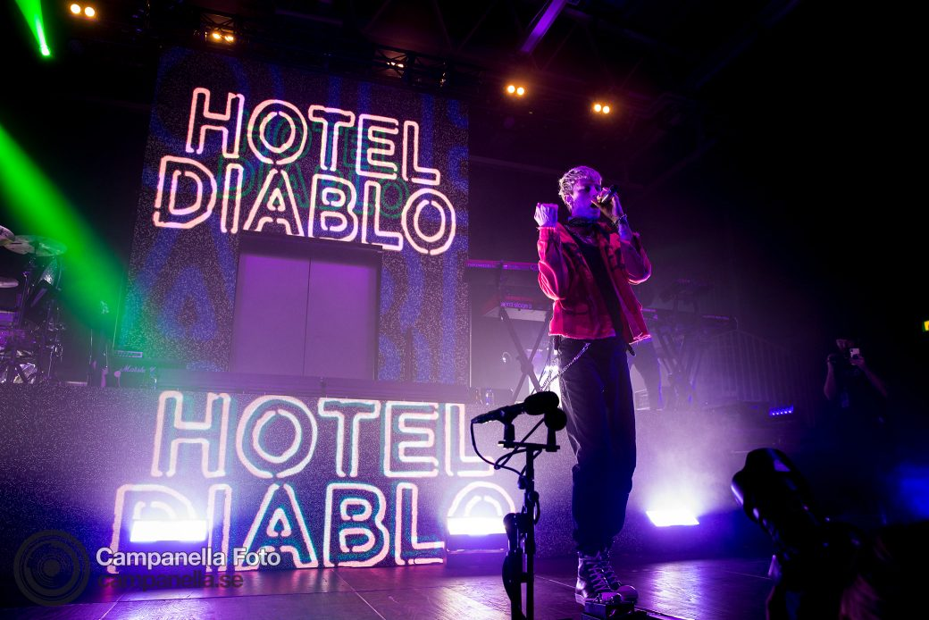 Machine Gun Kelly performs in Stockholm, Sweden - Michael Campanella Photography