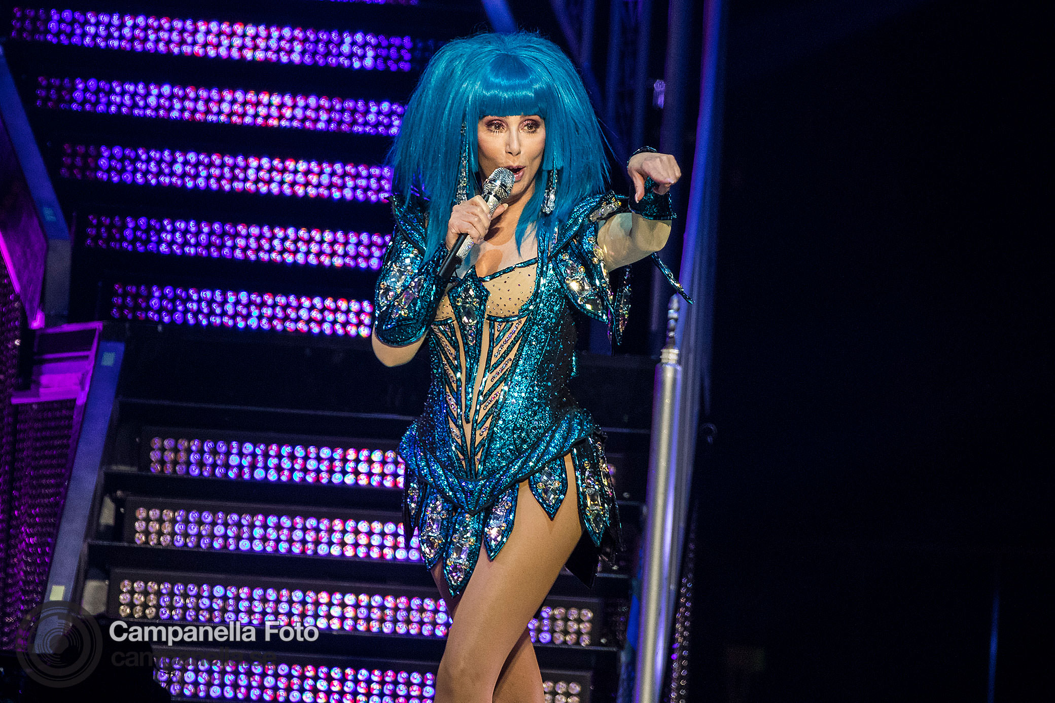 Cher performs in Stockholm   Michael Campanella Photography