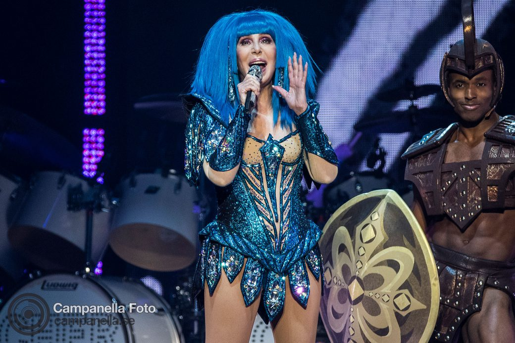 Cher performs in Stockholm - Michael Campanella Photography