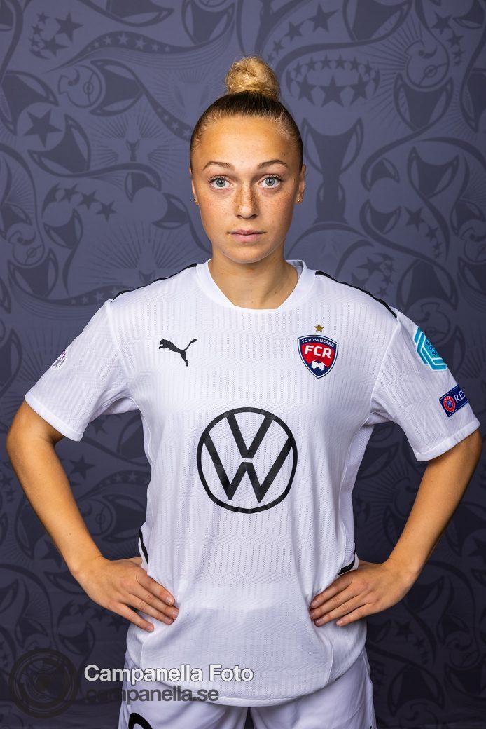 Player Portraits of FC Rosengård - Michael Campanella Photography