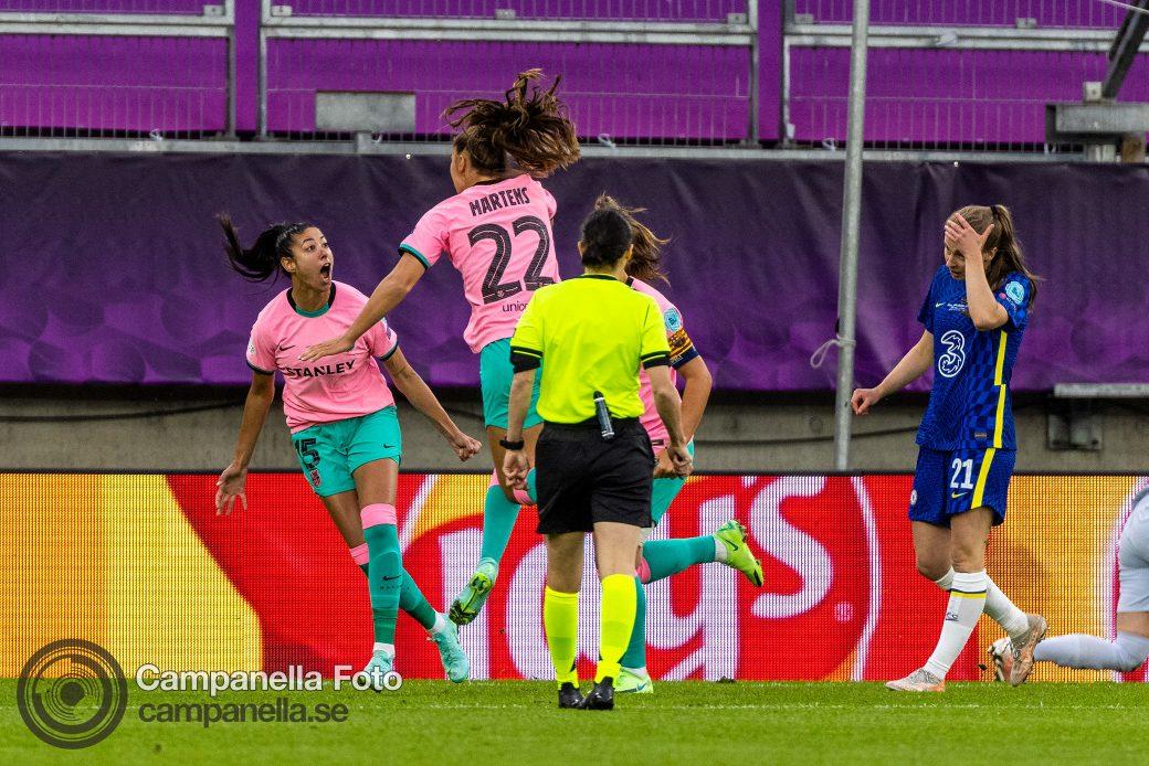 UEFA Women's Champions League Final 2021 - Michael Campanella Photography