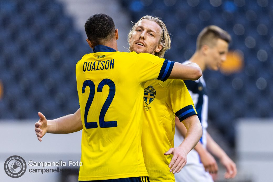 Sweden easily beats Finland in Euro 2020 test - Michael Campanella Photography